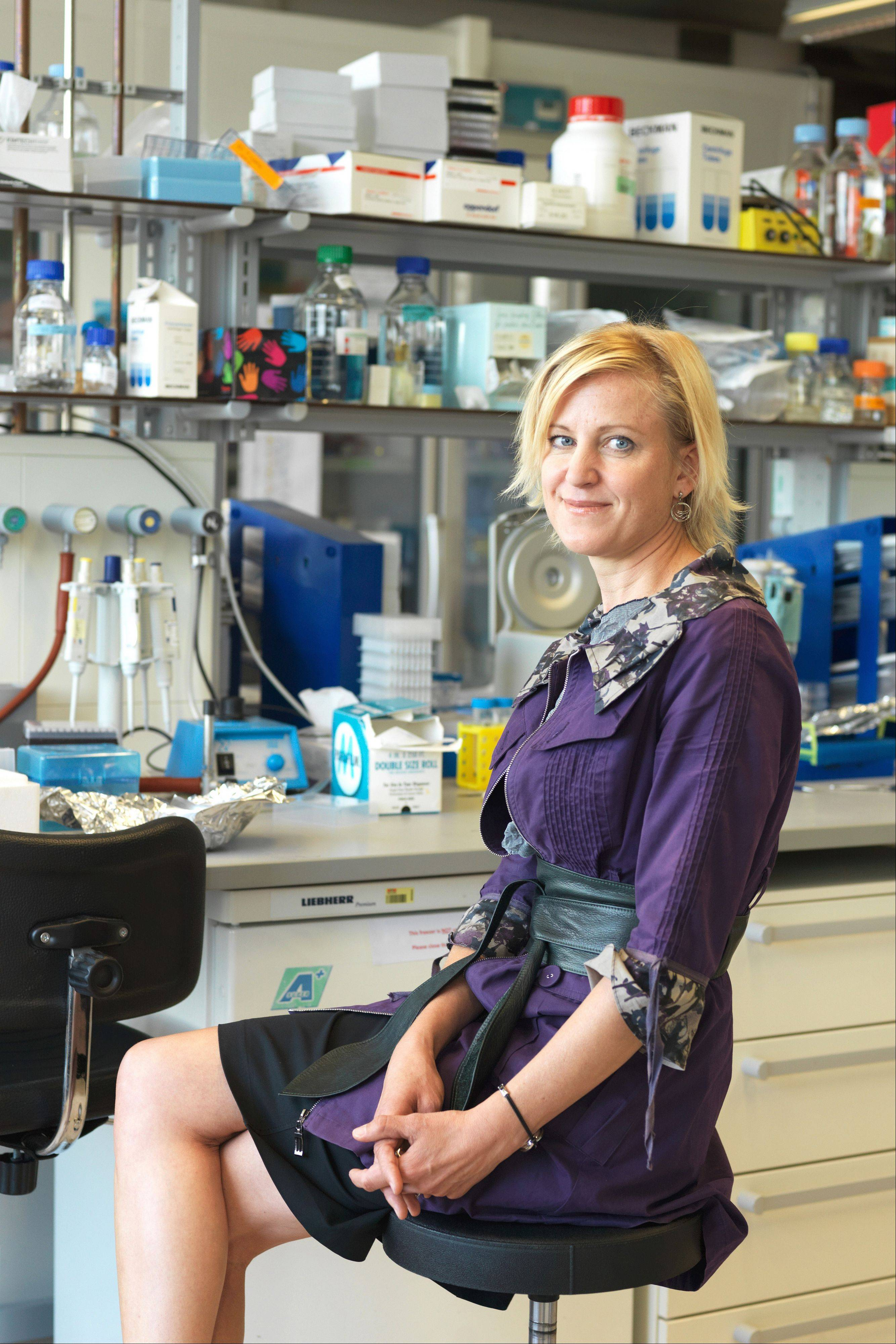 Bioengineer Melody Swartz, a 1987 graduate of Glenbard West High School, has been named one of 23 new MacArthur Fellows for 2012. She will receive $500,000 in �no-strings-attached support� over the next five years from the John D. and Catherine T. MacArthur Foundation. $PHOTOCREDIT_ON$Courtesy of the John D. and Catherine T. MacArthur Foundation $PHOTOCREDIT_OFF$