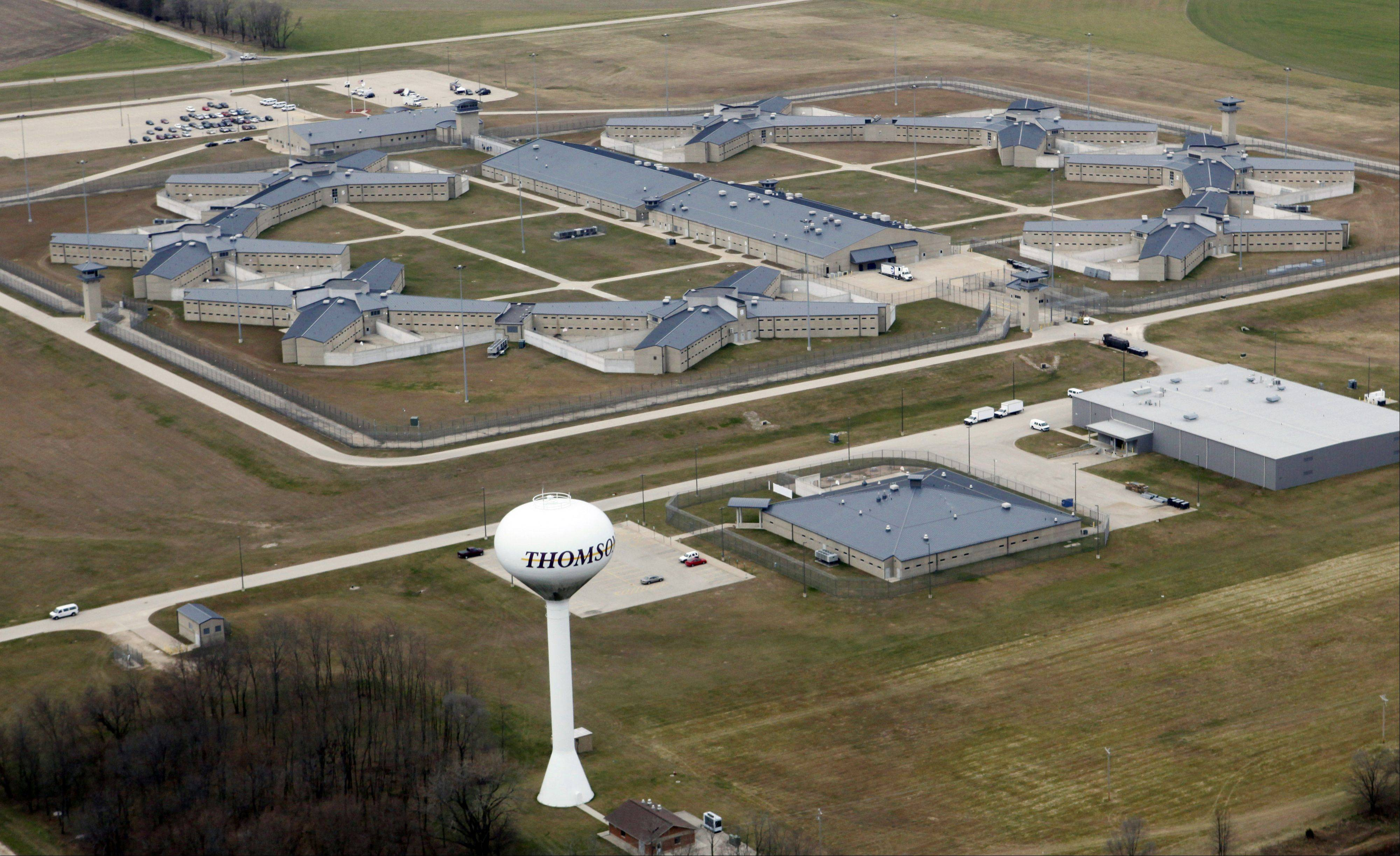Thomson Correctional Center in northwestern Illinois.