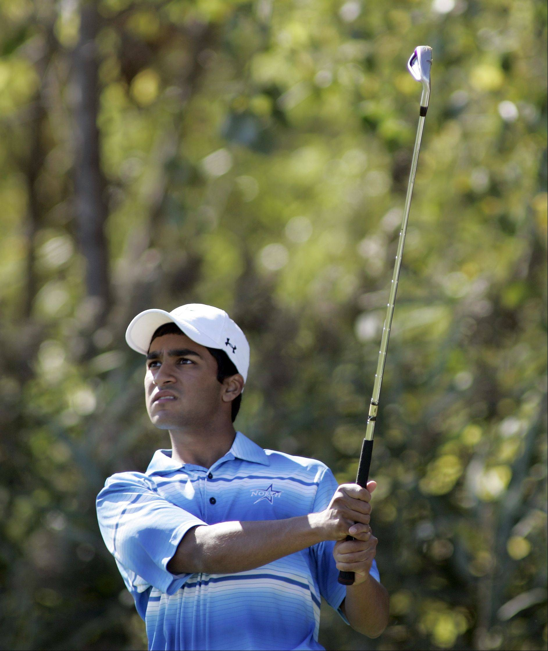 St. Charles North�s Raghav Cherala won the Class 3A Larkin regional title Tuesday with a 1-over par 73 at The Highlands of Elgin.