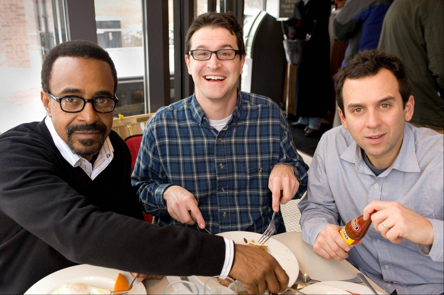 "The improv troupe Uncles Brother featuring ""Saturday Night Live"" alumnus Tim Meadows, with Joe Canale and Brad Morris, will perform in the Four-Star Comedy Fest at Navy Pier on Saturday, Oct. 6."