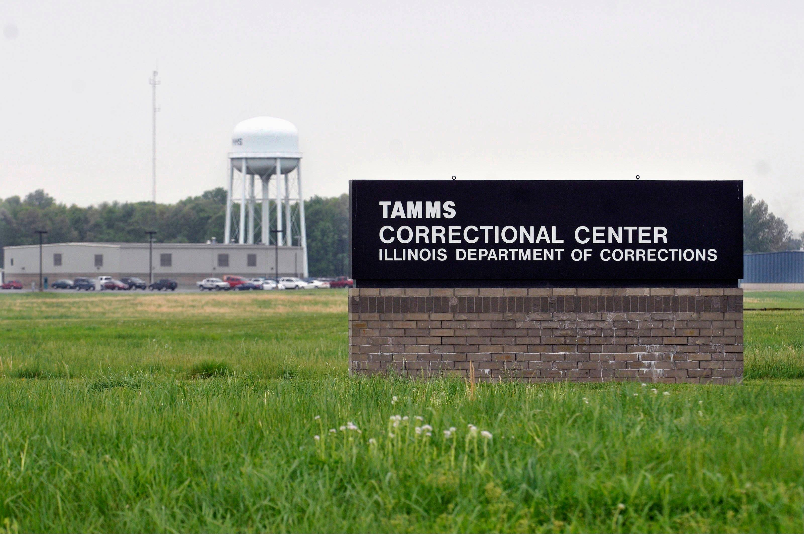 Tamms Correctional Center, Illinois� only super-maximum-security prison in Tamms. Illinois Gov. Pat Quinn�s administration is softening its promise that inmates transferred from the high-security Tamms prison after it closes to Pontiac will be under �identical� security rules.