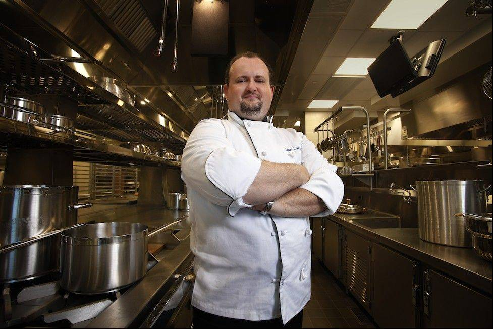 Chef Jean-Louis Clerc of Waterleaf at College of DuPage in Glen Ellyn