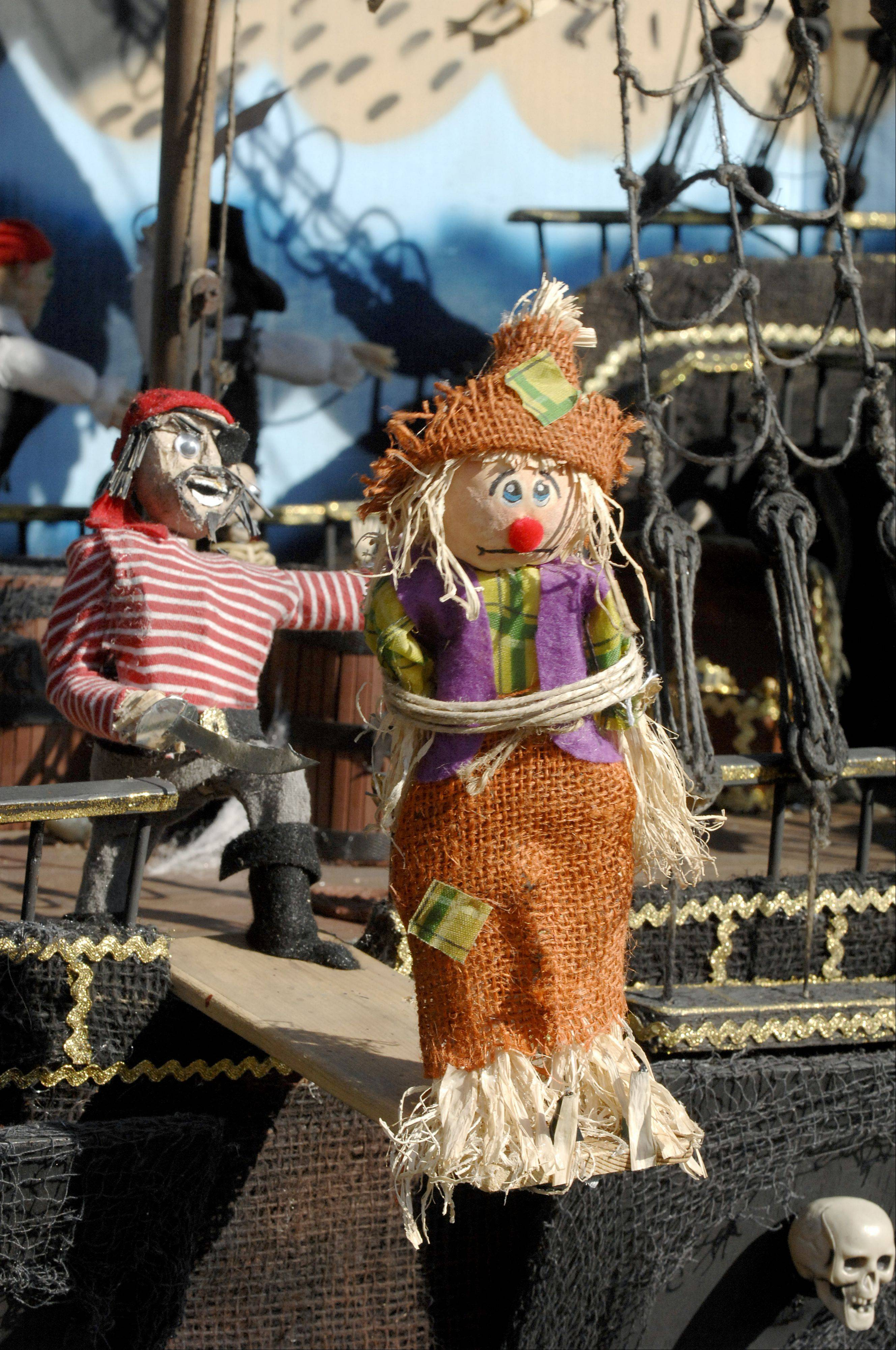Vote for your favorite scarecrow at the annual St. Charles Scarecrow Festival.