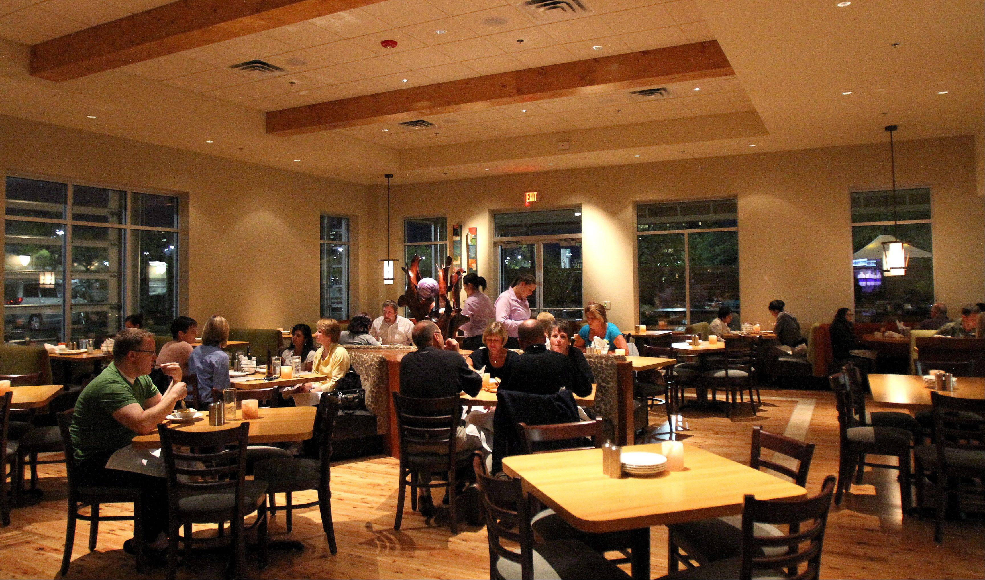 Pinstripes in Oak Brook continues its successful formula of offering patrons a chance to bowl or play bocce.