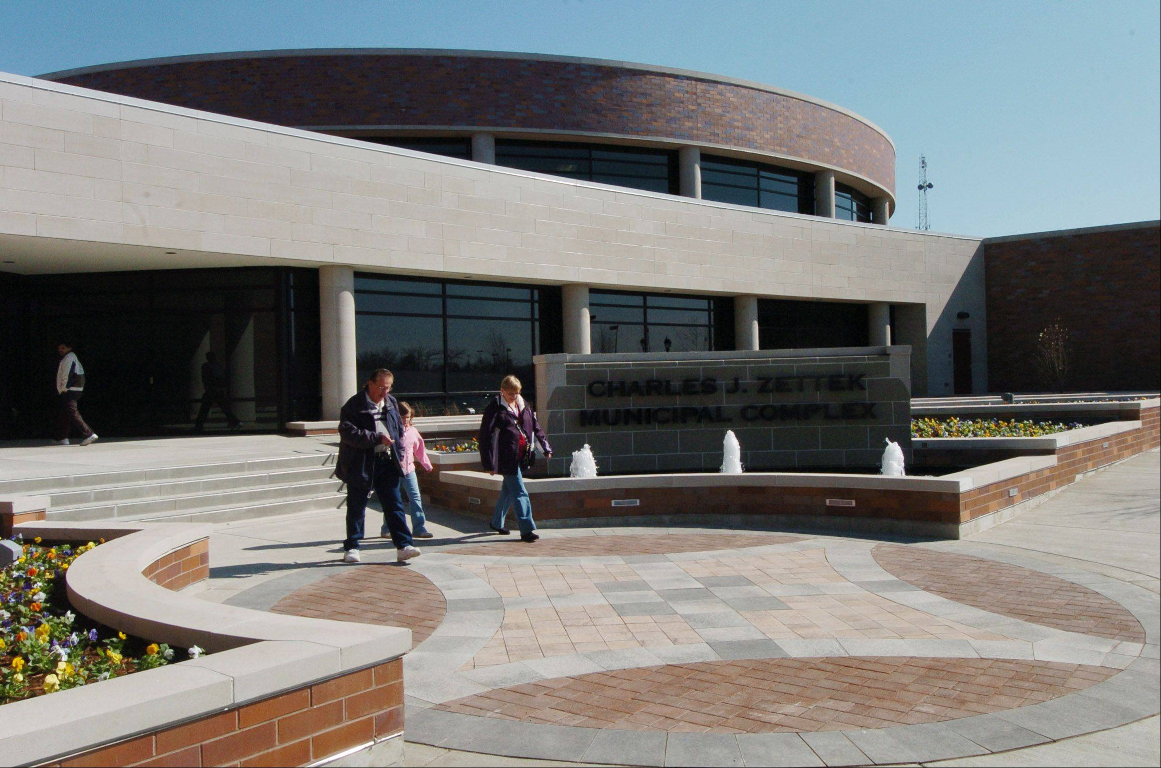 ELK GROVE VILLAGE: $2,323 PER RESIDENT: Much of Elk Grove Village's $77 million debt is a result of the financing and construction of its new government complex.