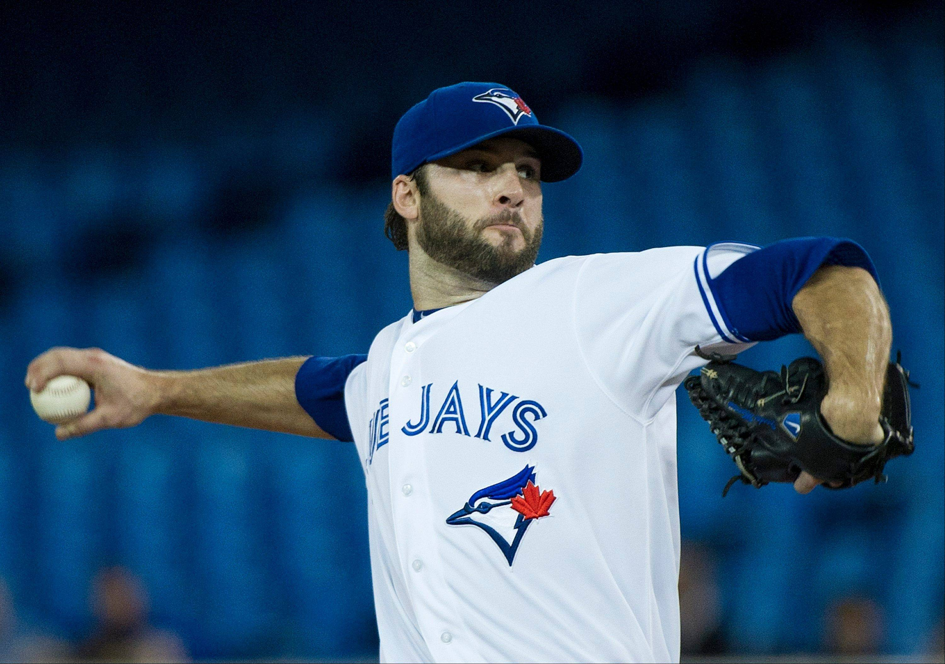 Toronto Blue Jays starting pitcher Brandon Morrow allowed one run and three hits in eight innings Wednesday at home against Minnesota.