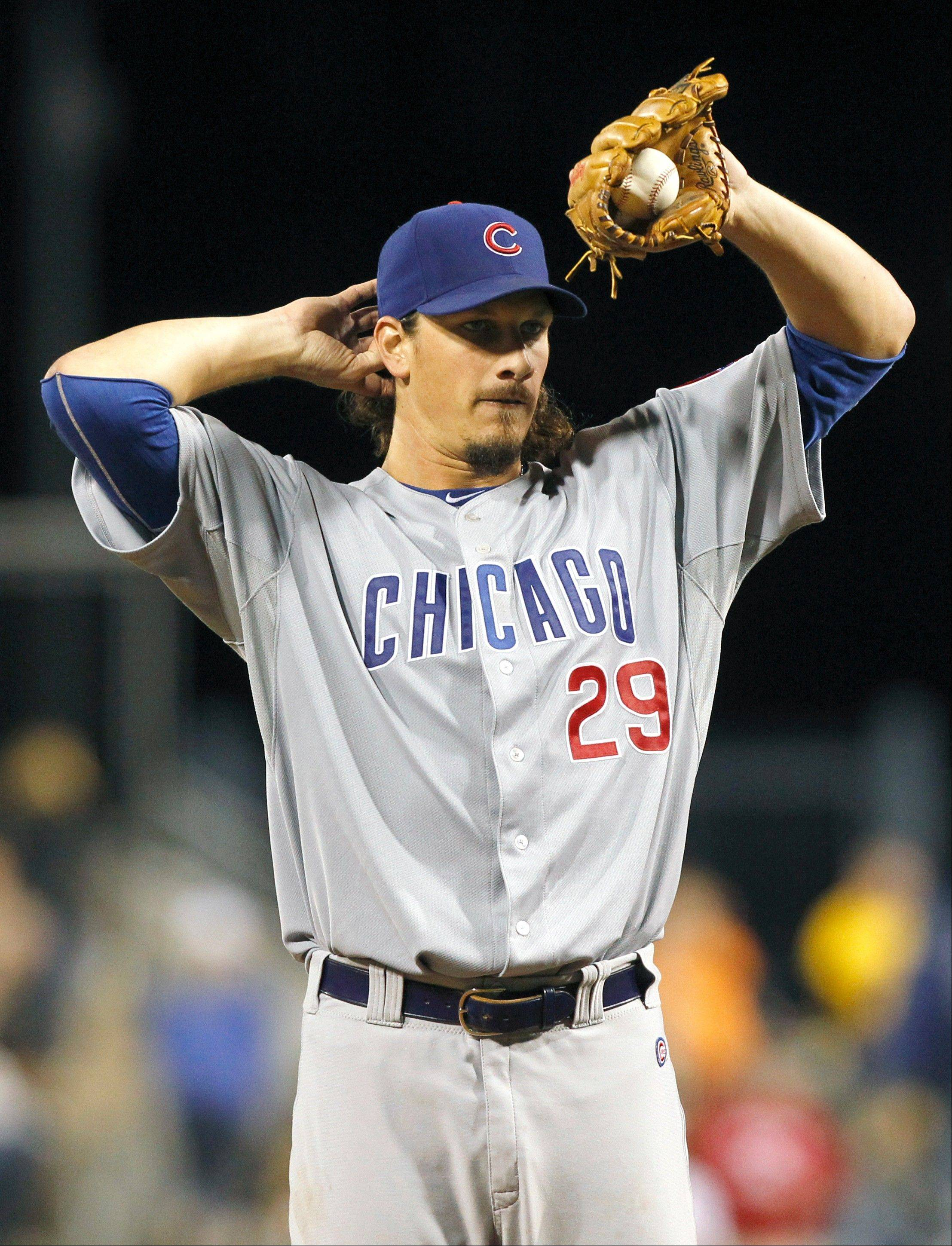 In his first season as a starter, r Jeff Samardzija worked 174 innings with a 9-13 record, an ERA of and 9.2 strikeouts per 9 innings pitched.