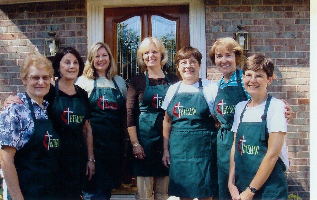 Committee members Norma Jung-Stein, Pam Larsen, Nancy Koutsis, Sherrie Anuskewicz, Carolyn Schneider, Mary Mellon, and Linda Osikowicz have planned the 2012 Barrington United Methodist Church Rummage Sale being held Oct. 5 and 6, at Barrington United Methodist Church.