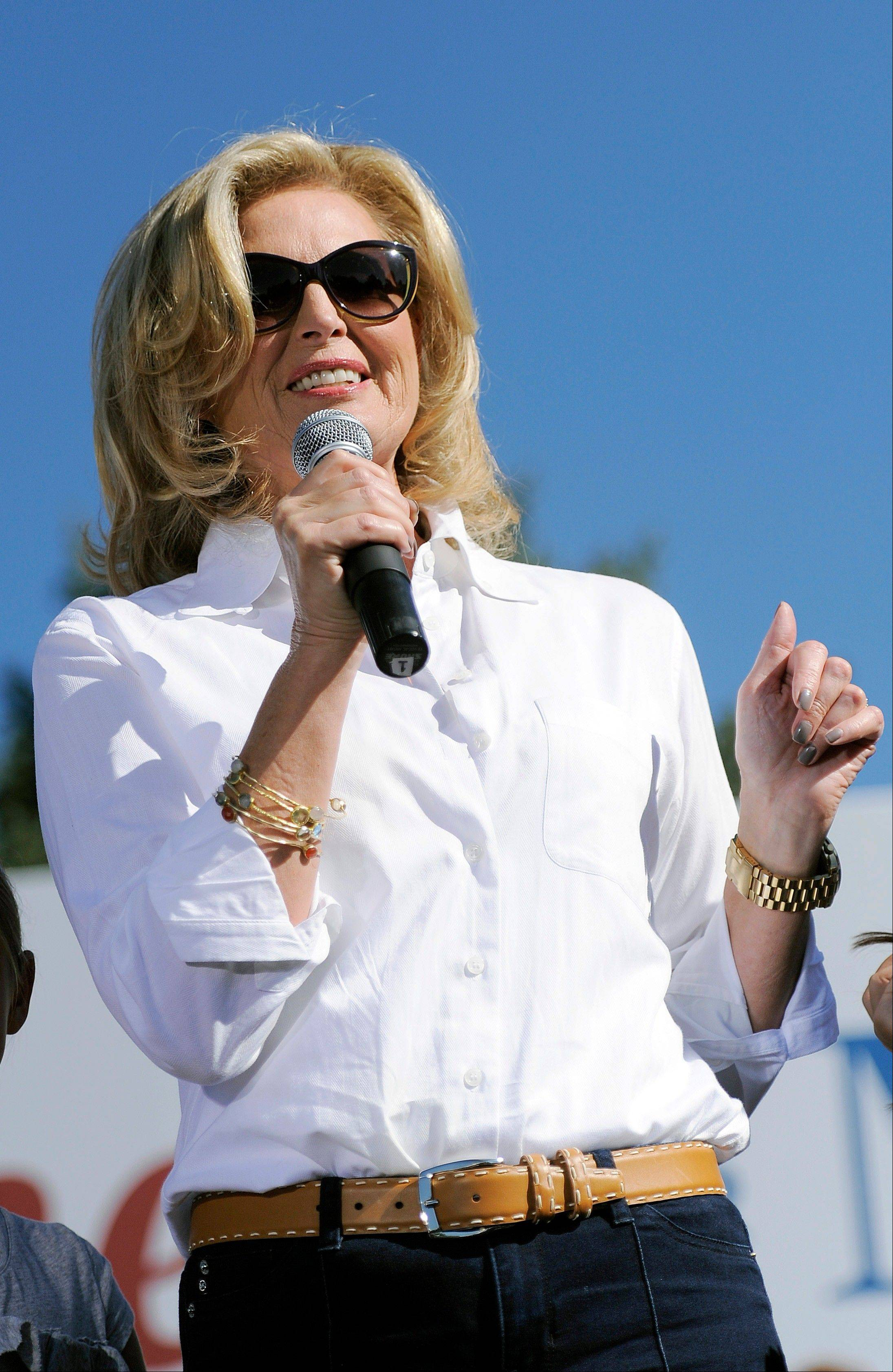 "Ann Romney will guest-host at the morning news program ""Good Morning America"" Wednesday."