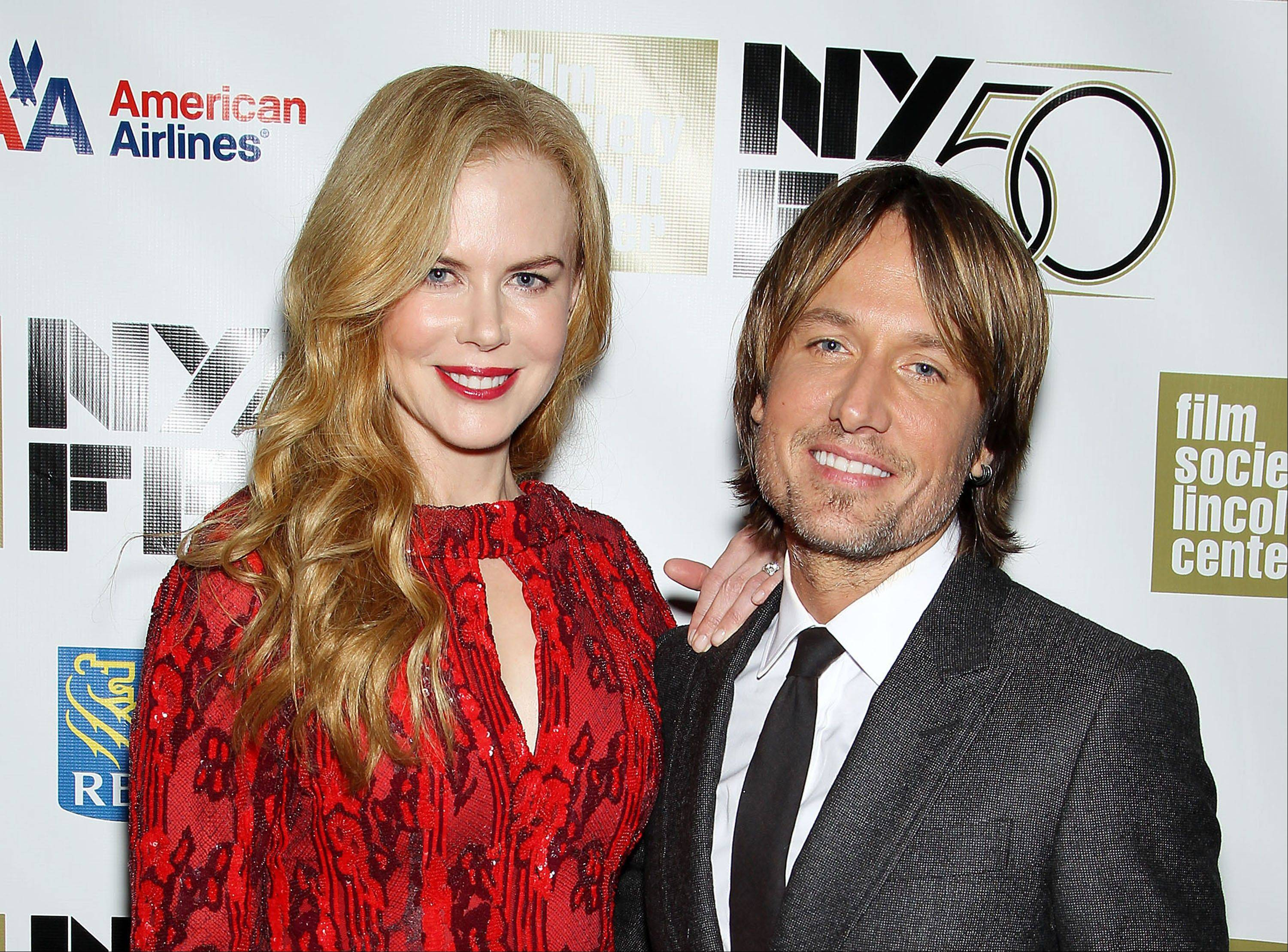 Keith Urban, here with wife Nicole Kidman, has become more than just a judge on the singing competition �American Idol,� he�s also the pacifier on the newly minted panel.