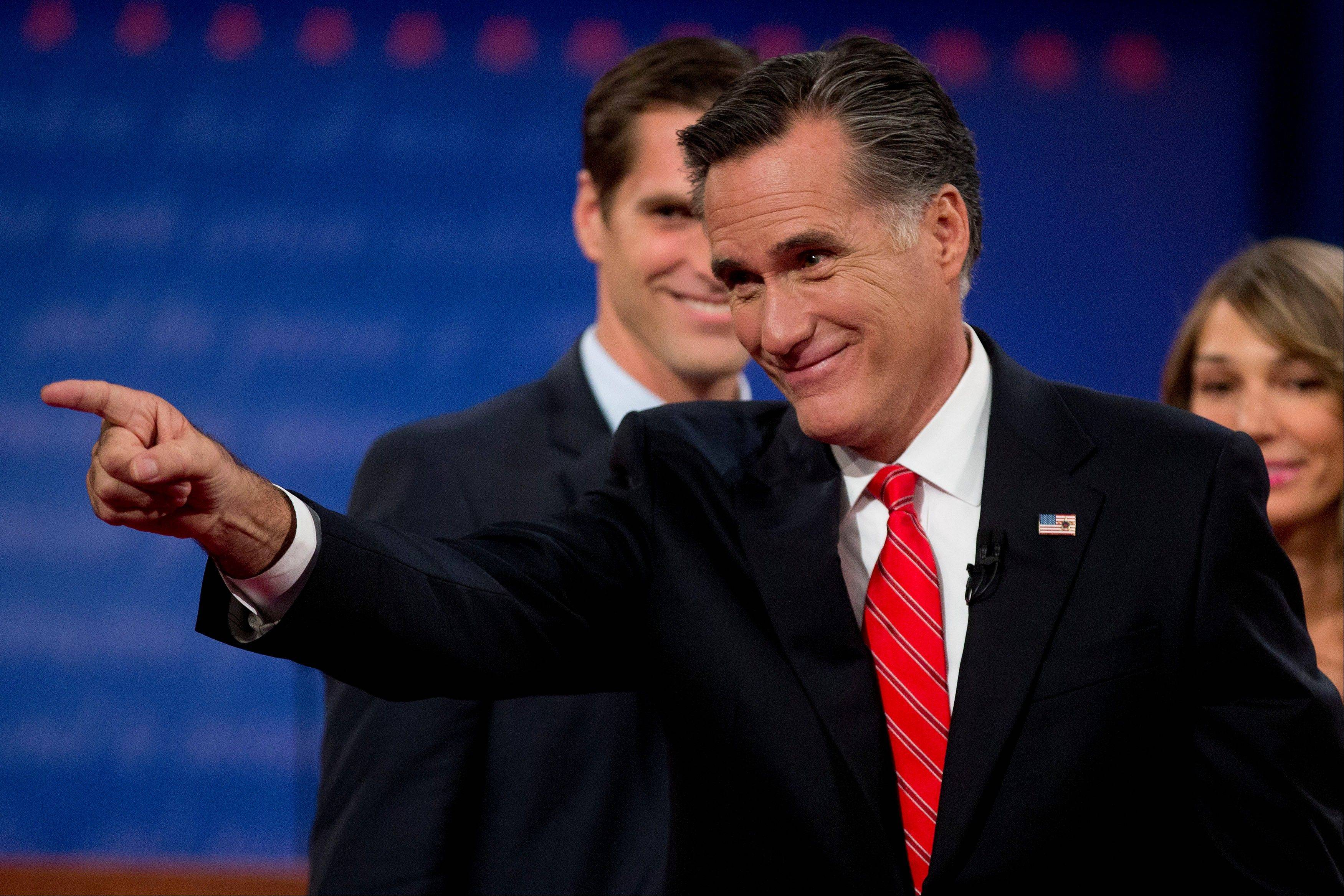 Post-debate: Romney basks, Obama challenges