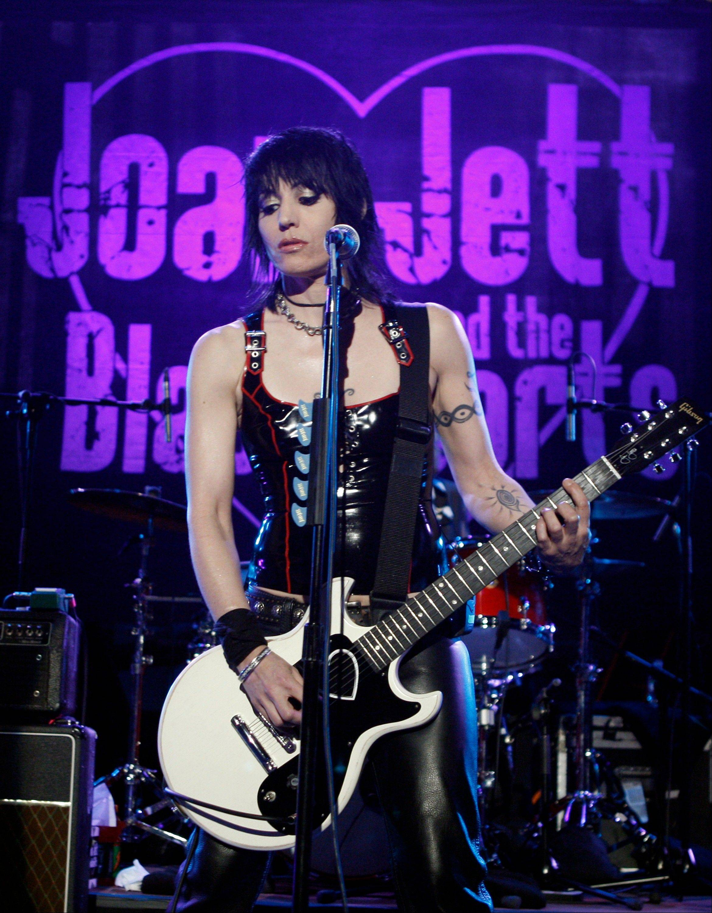Joan Jett and the Blackhearts have been nominated once again for induction into the Rock and Roll Hall of Fame in 2013.