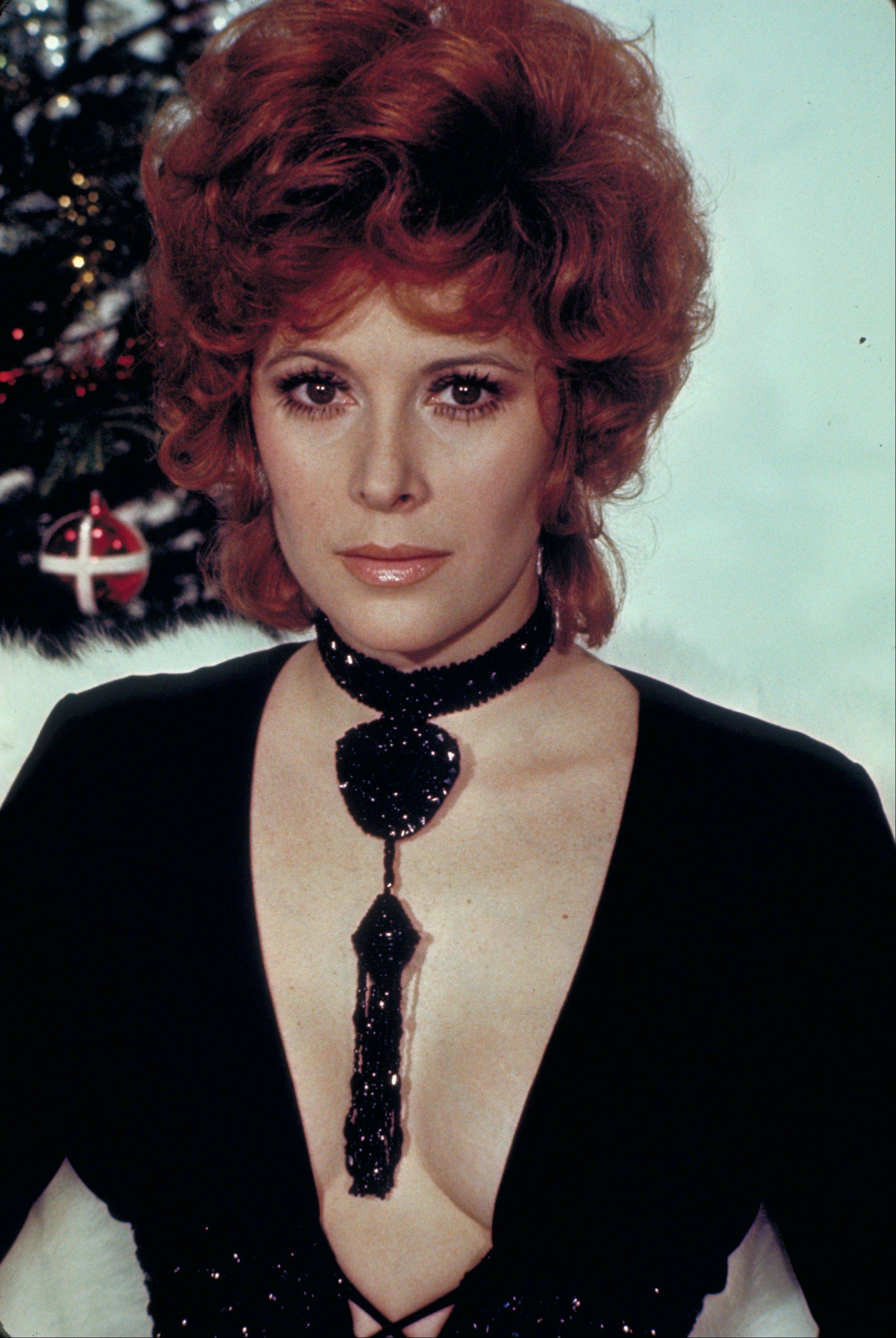 "Jill St. John in the 1971 film, ""Diamonds Are Forever."""