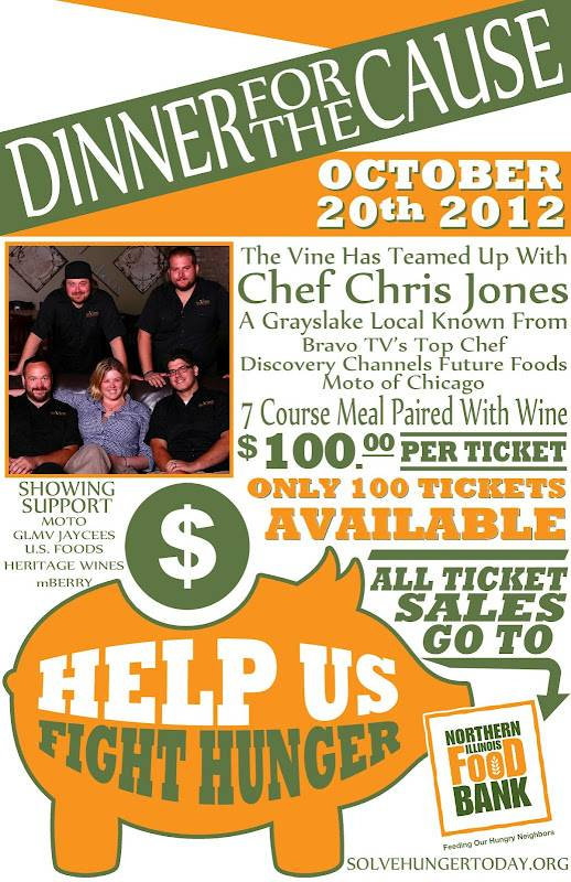 Dinner for a Cause on October 20th
