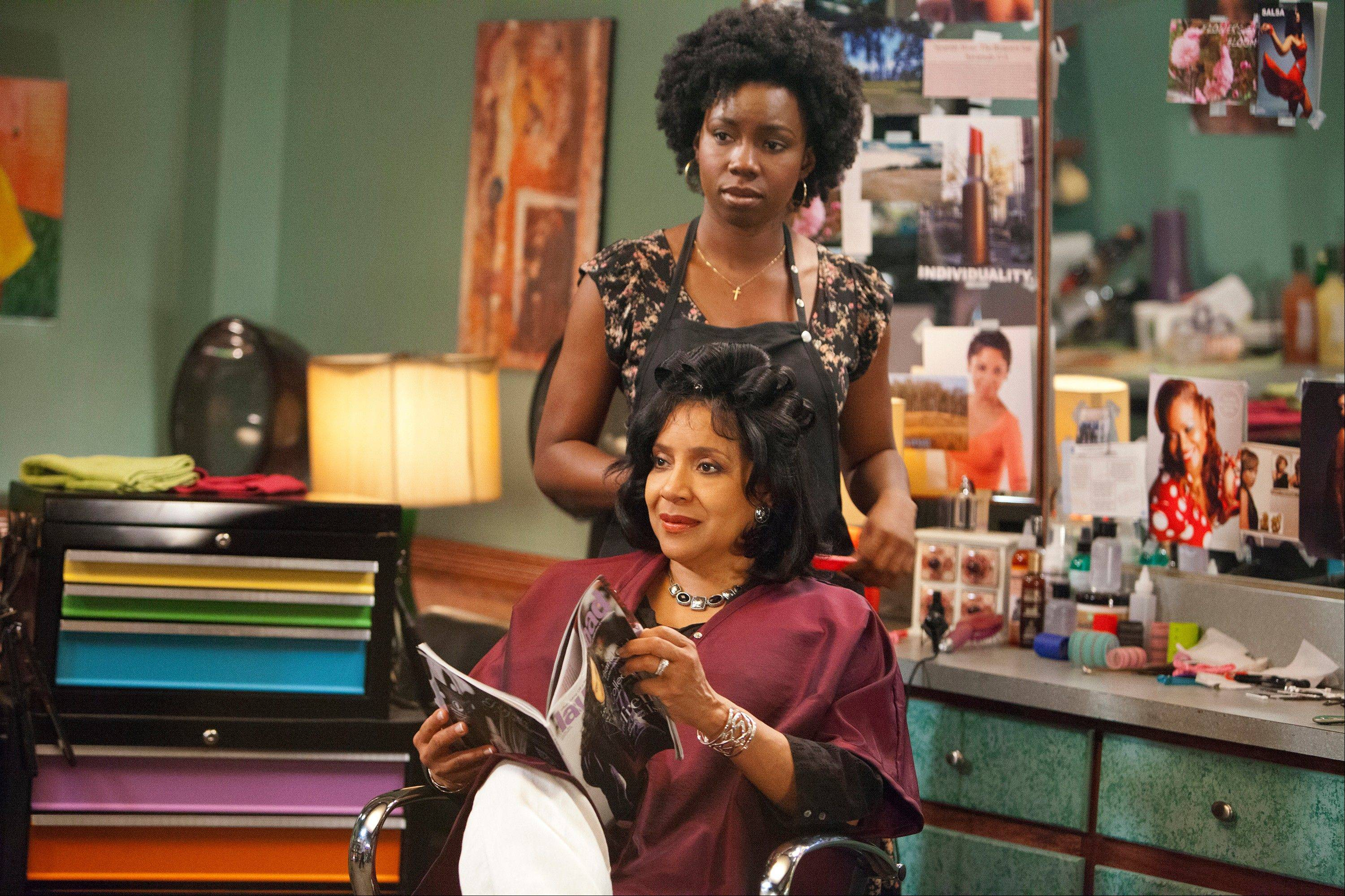 Adepero Oduye plays Annelle and Phylicia Rashad is Clairee in �Steel Magnolias,� premiering at 8 p.m. Sunday, Oct. 7, on Lifetime.