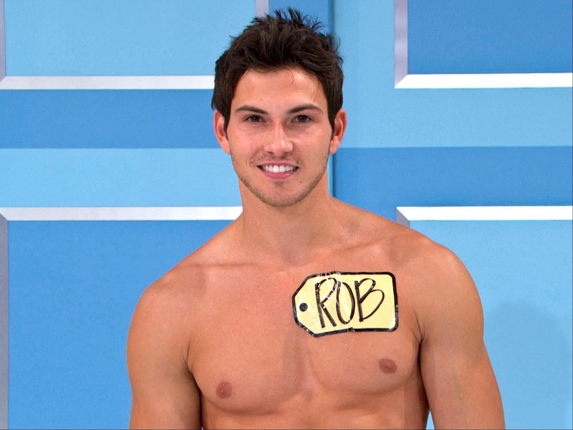 Rob Wilson, of Boston, was chosen in an online competition to be the first male model on the popular daytime game show �The Price is Right.� Wilson begins his weeklong stint on Oct. 15.