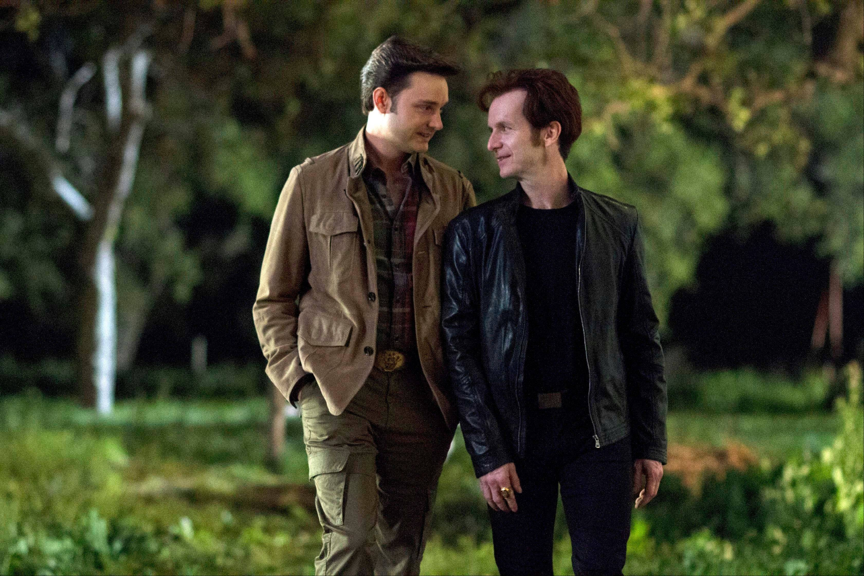 Michael McMillian, left, and Denis O�Hare co-star in HBO�s �True Blood.�