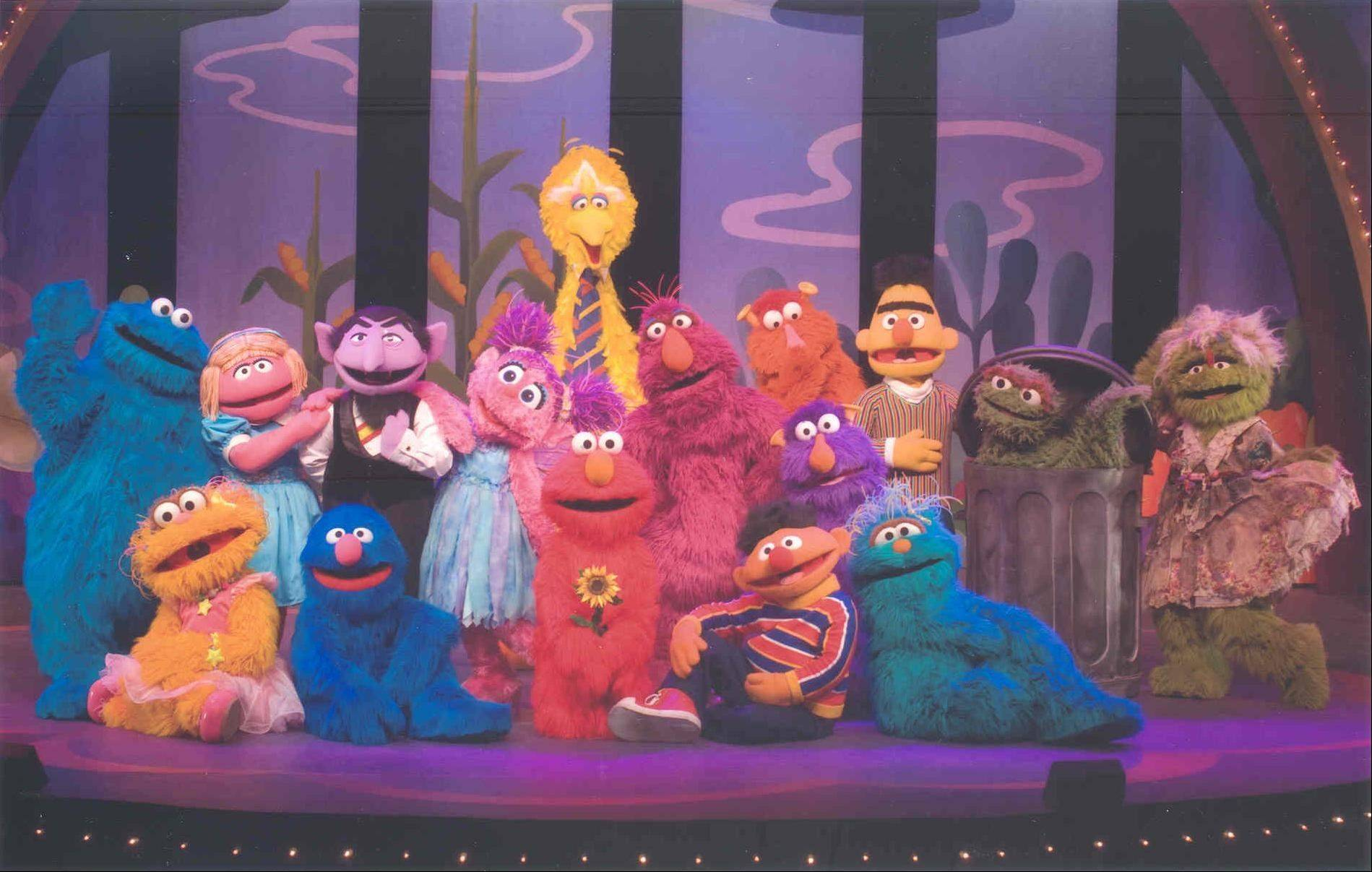 Elmo and the rest of the �Sesame Street� gang appeared at the Rosemont Theatre in 2010.