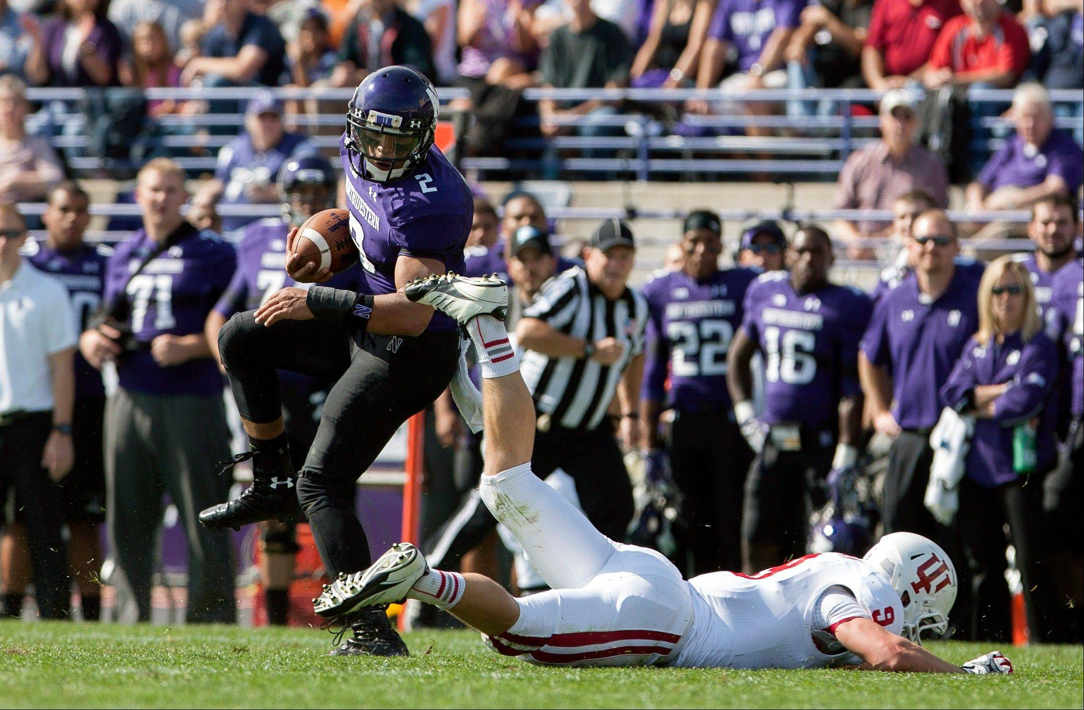 No. 24 Northwestern puts 5-0 start on line at Penn State