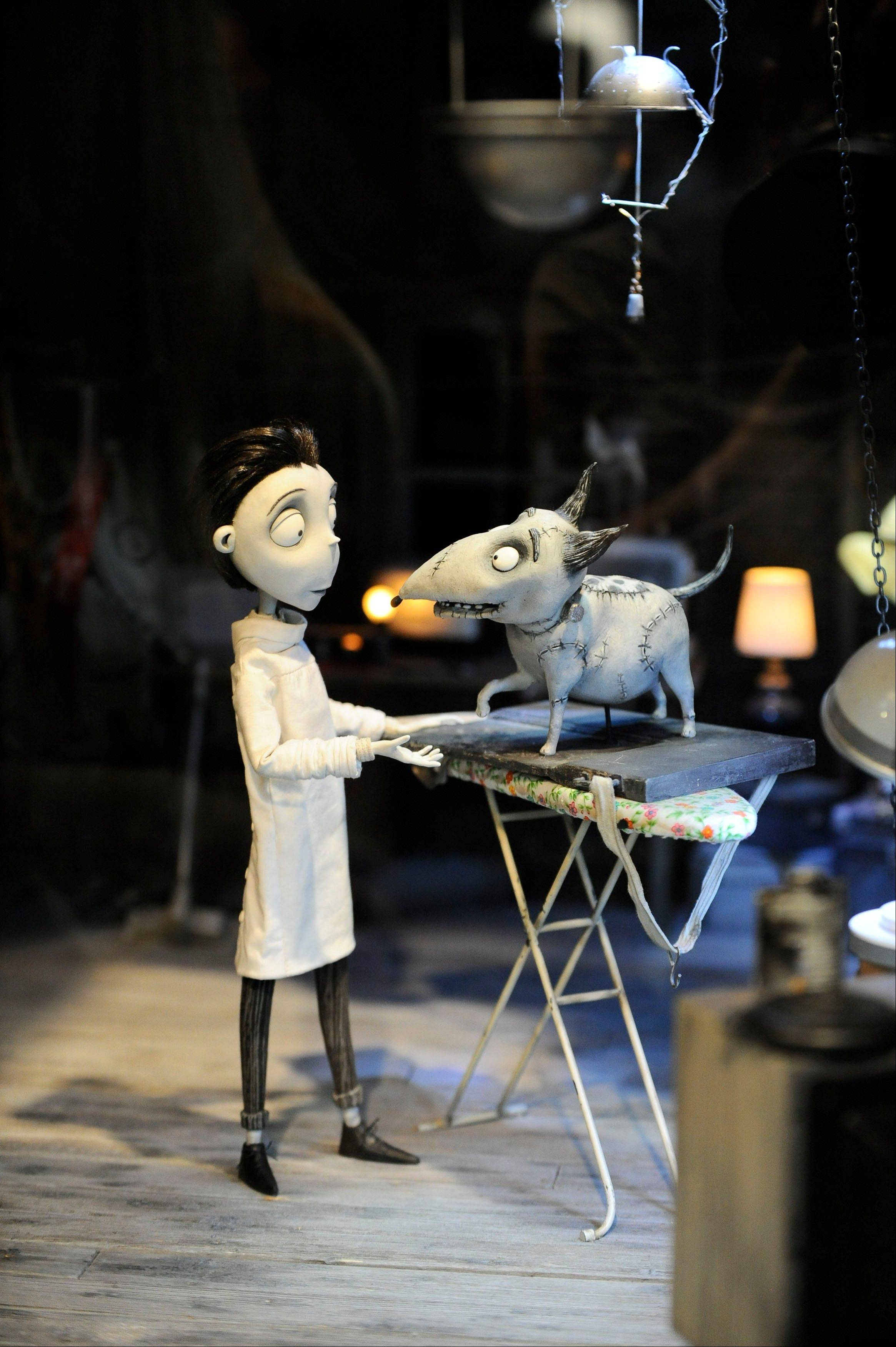 "Tim Burton's latest movie, ""Frankenweenie,"" is the third movie this year to use stop-motion animation."