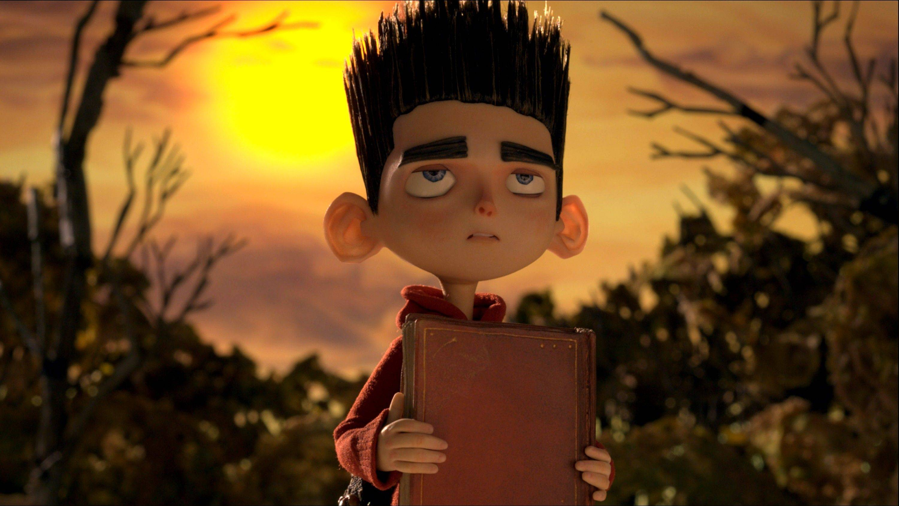 "Norman's ability to talk with ghosts makes him an unlikely hero in the 3D stop-motion film ""ParaNorman."""