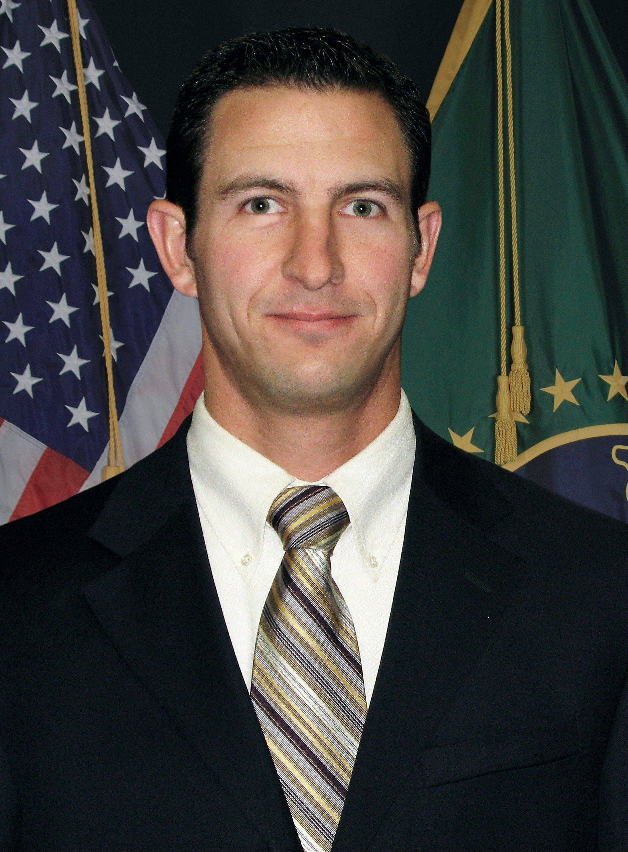 This undated photo provided by U.S. Customs and Border Protection shows slain Border Patrol agent Nicolas Ivie. The fatal shooting of Ivie and the wounding another U.S. Border Patrol agent near the Arizona-Mexico border may have been a case of friendly fire, a union chief for border agents and law enforcement officials said Friday.