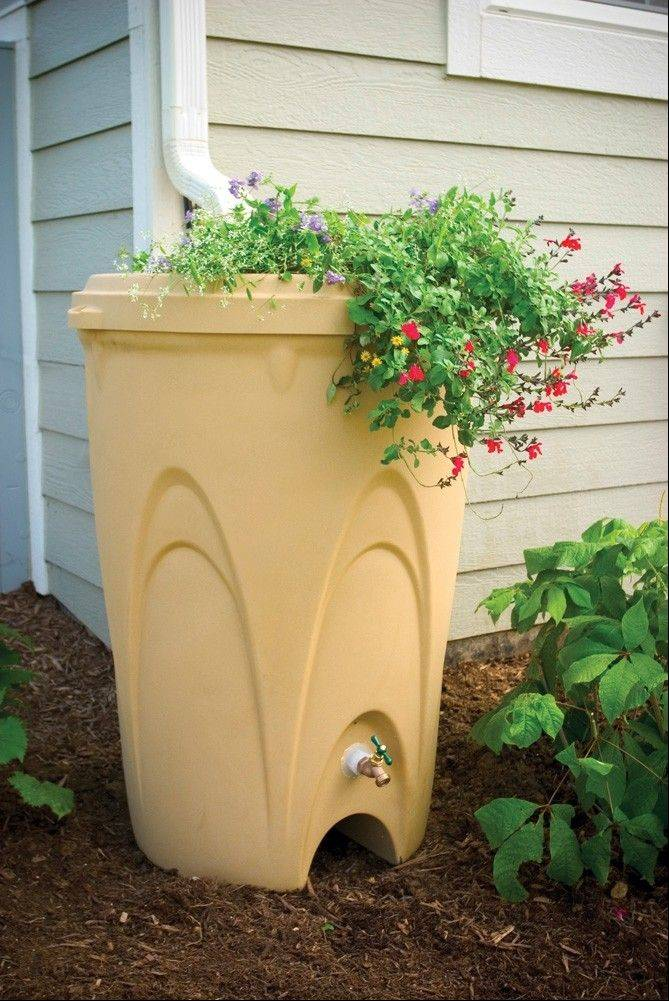 Using a rain barrel is one way some candidates for Metropolitan Water Reclamation District say they save water in their own homes.