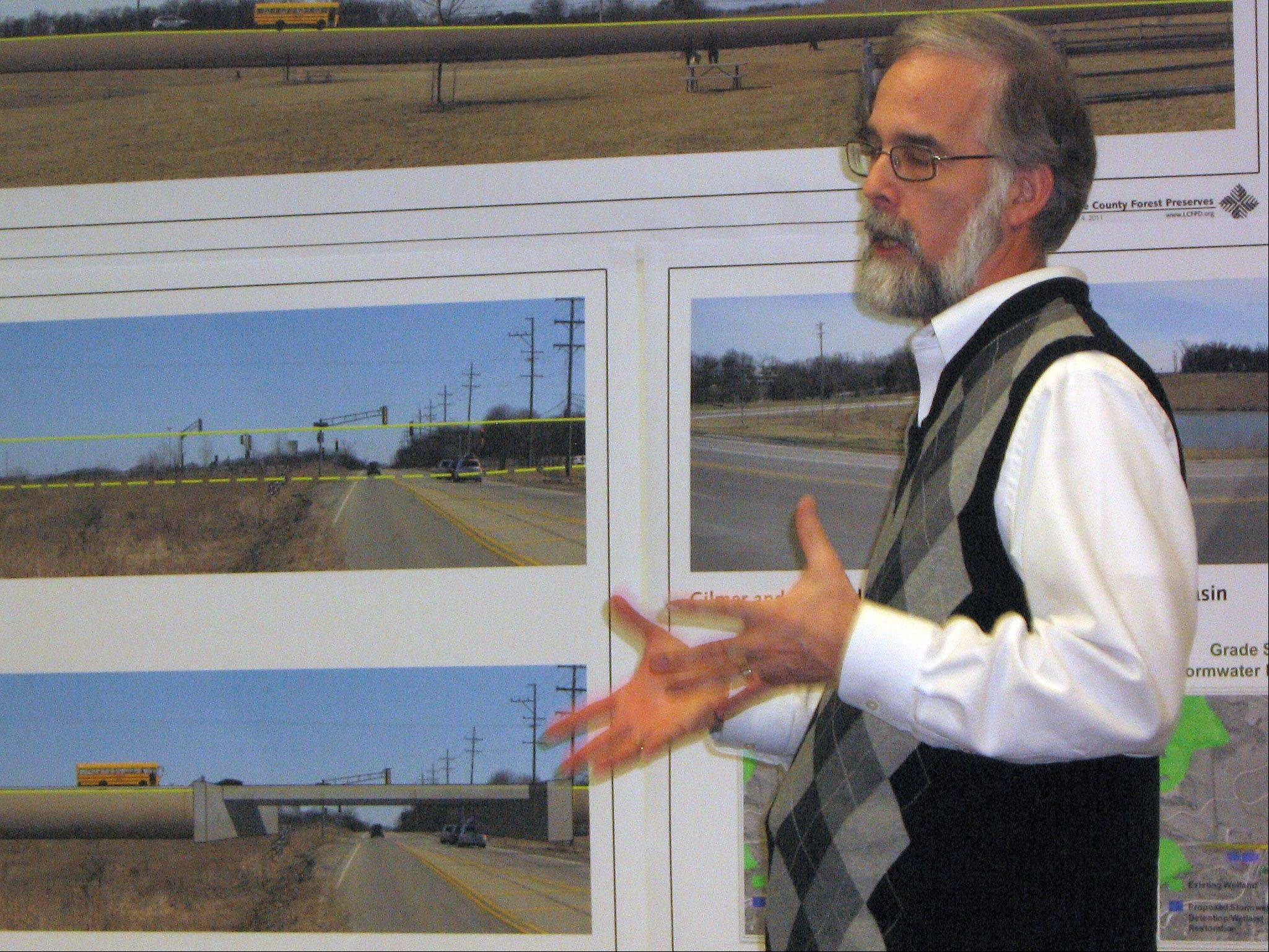 MICK ZAWISLAK/Daily Herald file photoMike Fenelon, the head of planning, conservation and development for the Lake County Forest Preserve District, helped design public improvements at many of the county's preserves.
