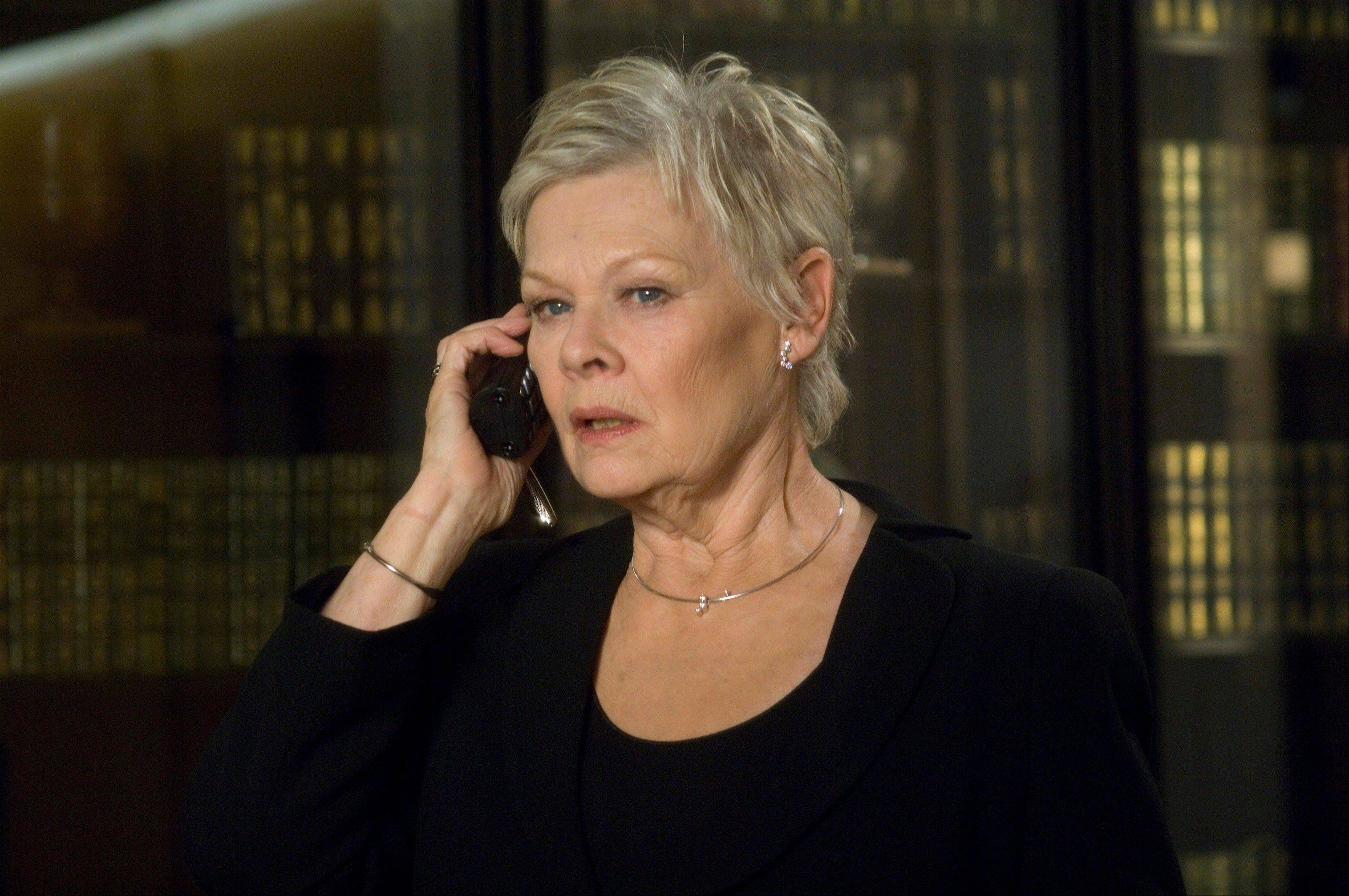 "Judi Dench plays the head of MI6, ""M,"" in the newest James Bond film ""Casino Royale."" The greatest change in women's position in the Bond saga, is that the agent's boss, M, is a woman."