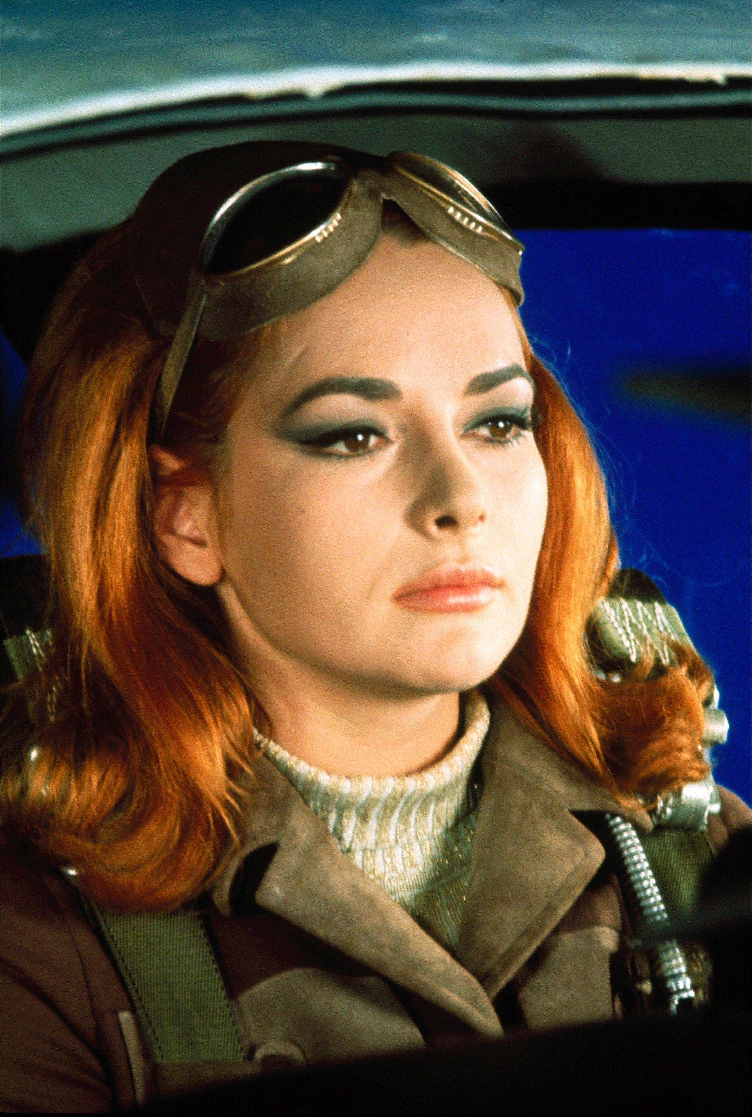 "Karin Dor in a scene from the James Bond 1967 film, ""You Only Live Twice."" Initially, Bond girls were part of the aesthetic of the series. They had more transient roles. The film is included in the MGM and 20th Century Fox Home Entertainment Blu-Ray ""Bond 50"" anniversary set."