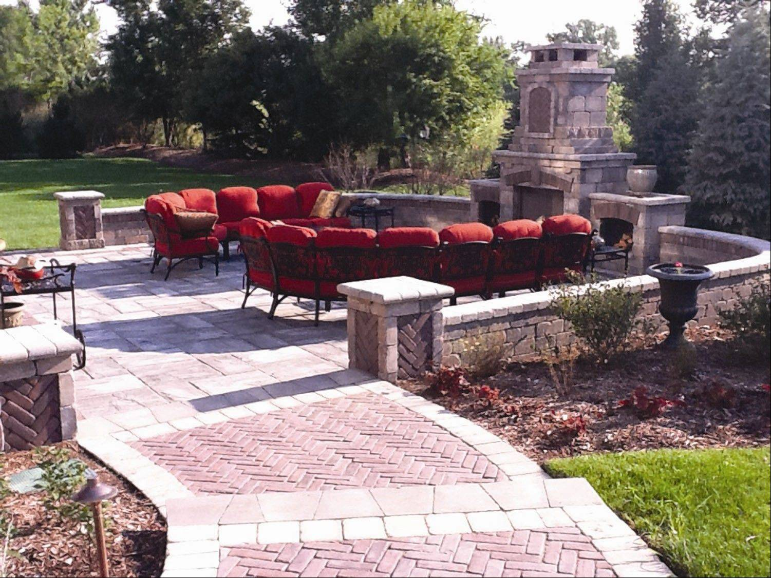 Hardscaping is the permanent yard features that complete your landscaping.