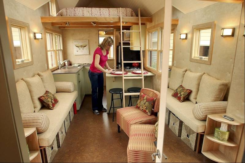 Woman believes in big market for tiny houses for High end tiny house