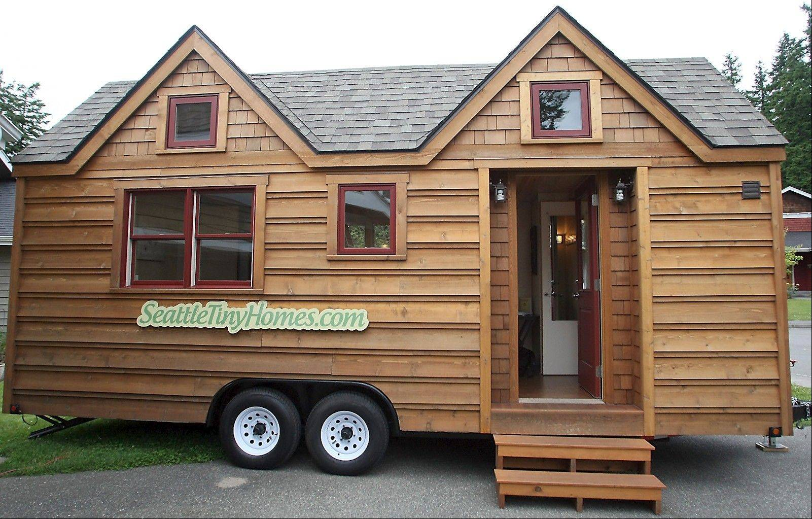 This 174-square-foot Ballard model home can be used as a guesthouse.