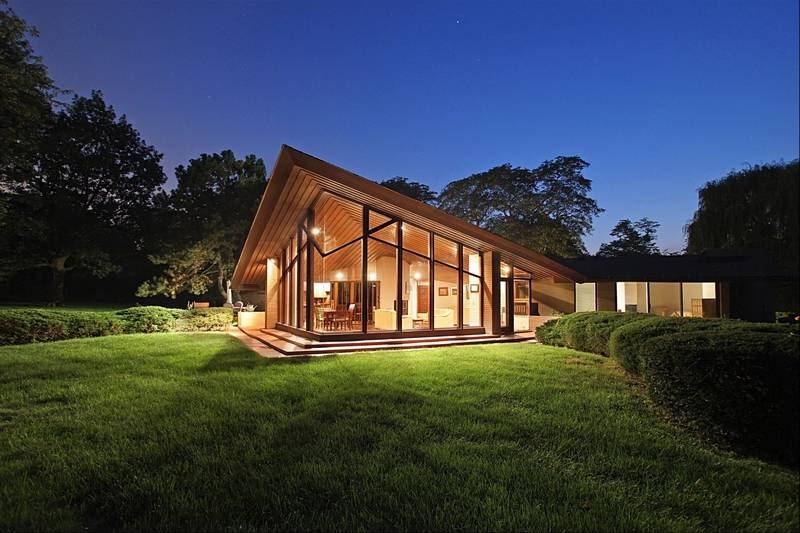 Inverness Home Was Designed By A Student Of Wright