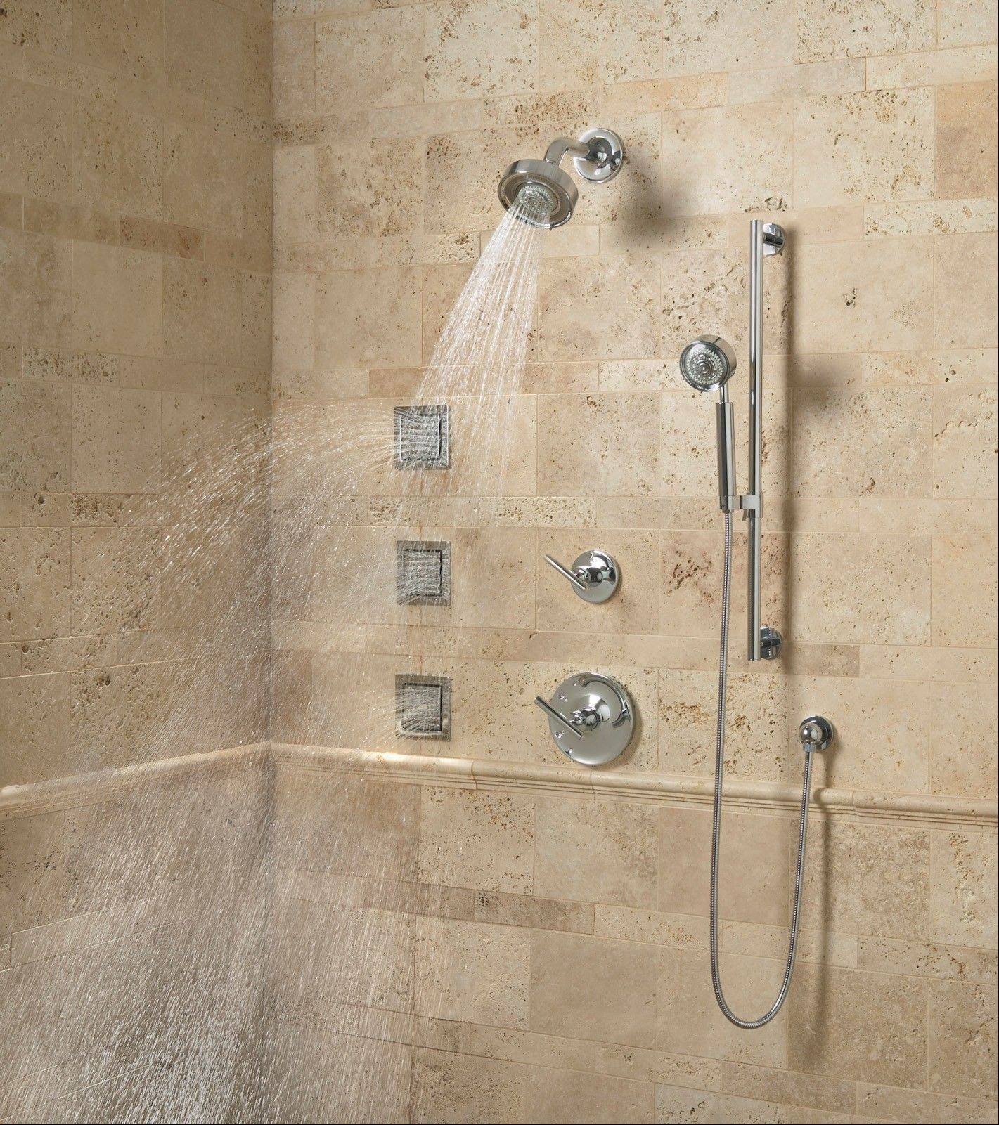 Custom shower stalls can include multiple showerheads and body sprays, so not only can the construction of the stall be a little tricky, the plumbing can be complicated as well.