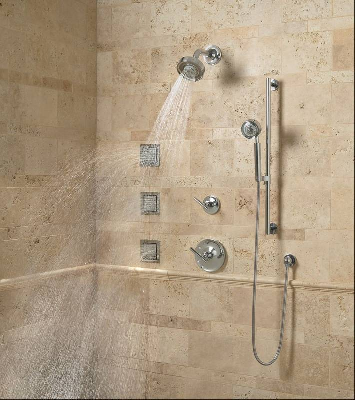 Work with a professional to create a custom shower for Body spray shower systems