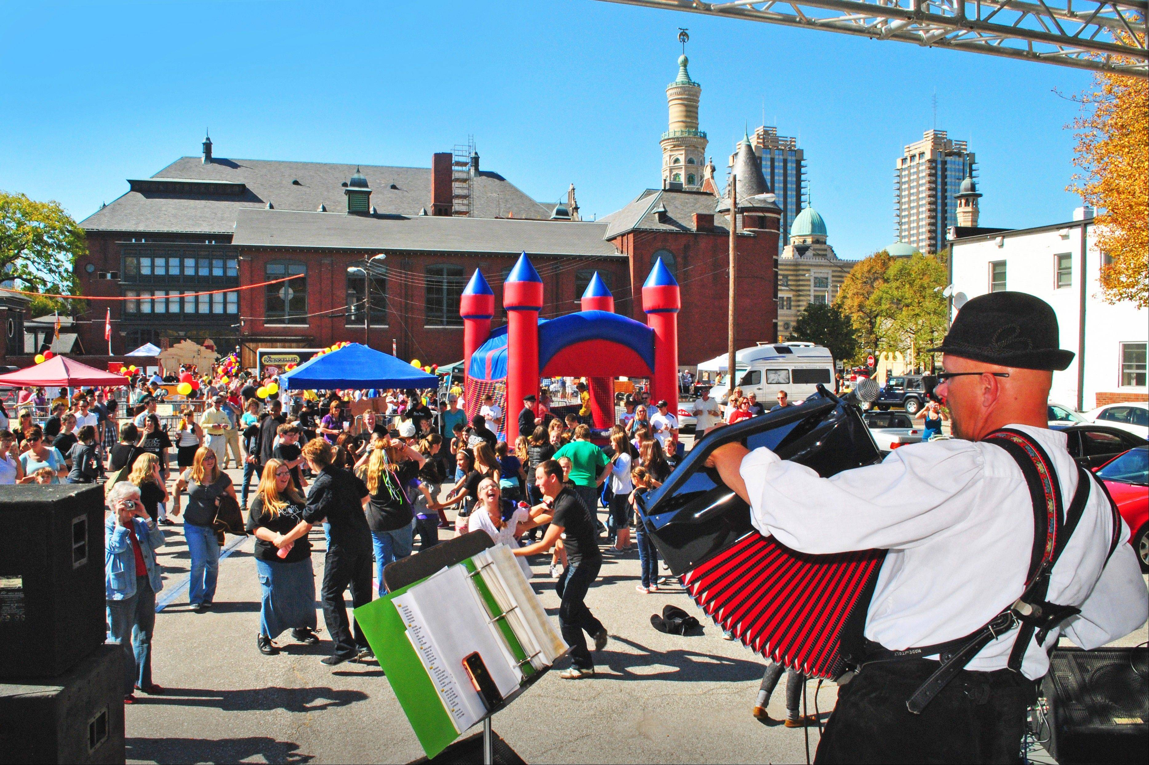 Germanfest brings the sights, scents and tastes of the old country to Indianapolis.
