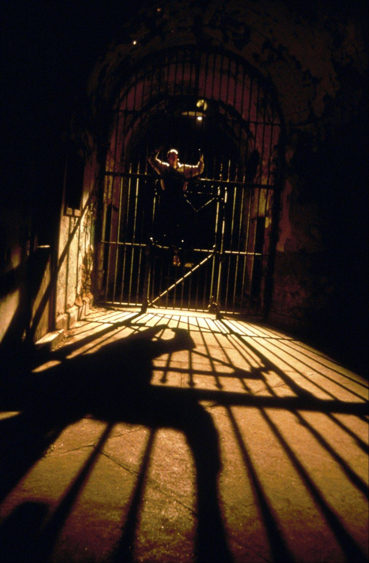"More than 100,000 people visit the former state prison, Eastern State Penitentiary, which closed in the 1970s, each fall to experience its reincarnation as a haunted house called ""Terror Behind the Walls."""