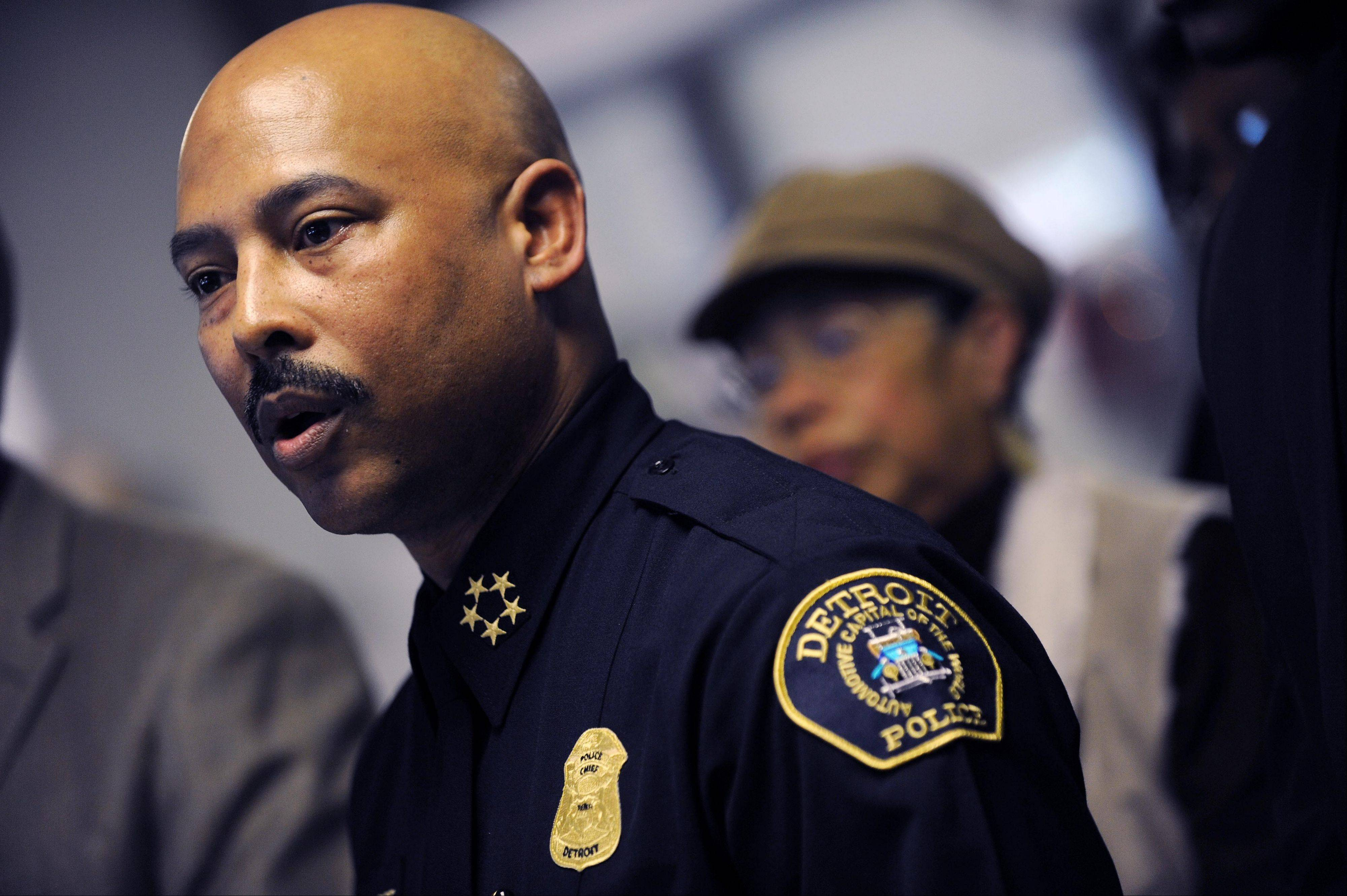 Detroit Police Chief Ralph Godbee has stepped down after an internal affairs officer revealed the chief had been in a sexual relationship with a subordinate.