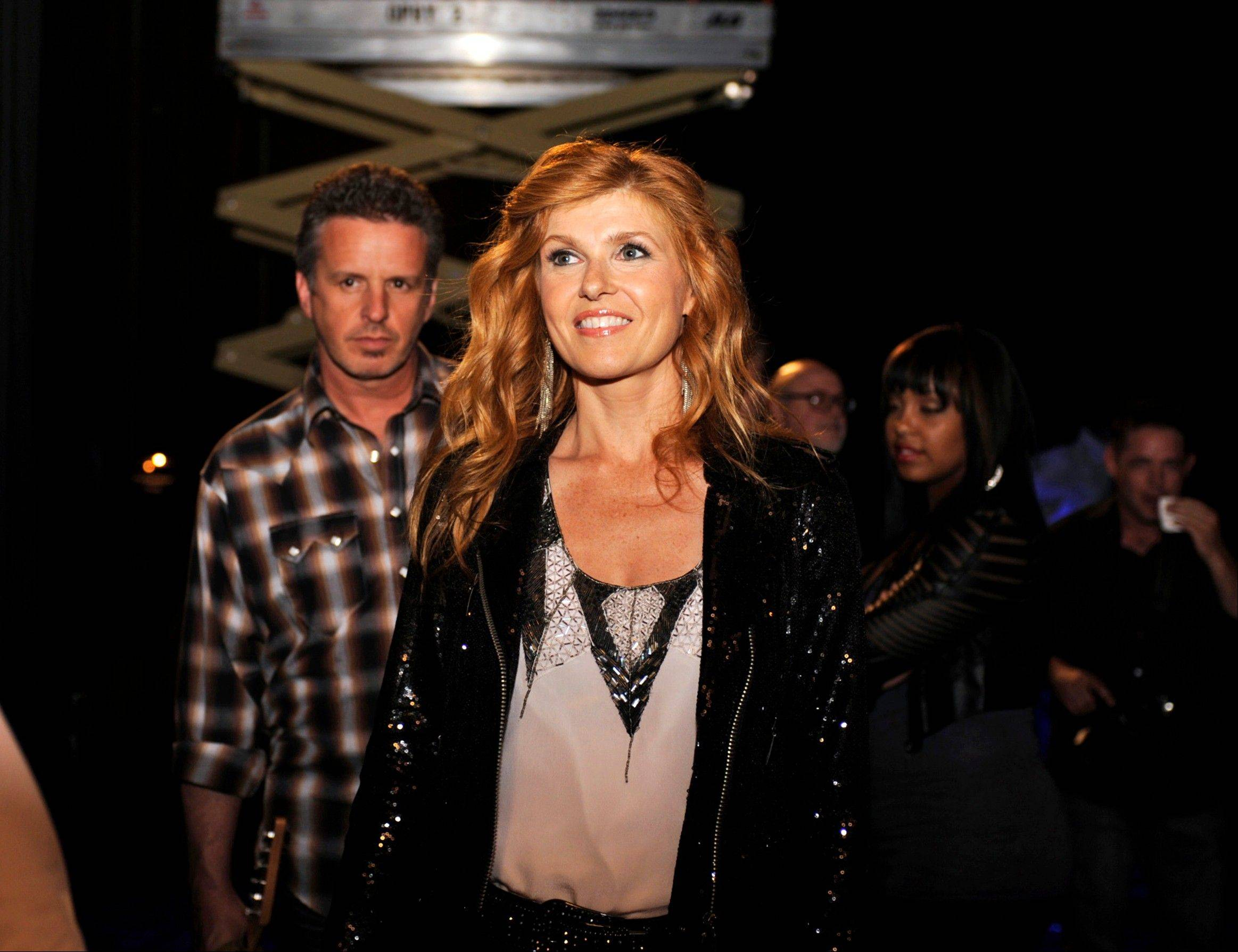 "A country superstar (Connie Britton) struggles to stay on top in ABC's ""Nashville"" premiering Wednesday, Oct. 10."