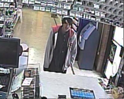 Police say this man robbed a Schaumburg store at gunpoint Friday afternoon.