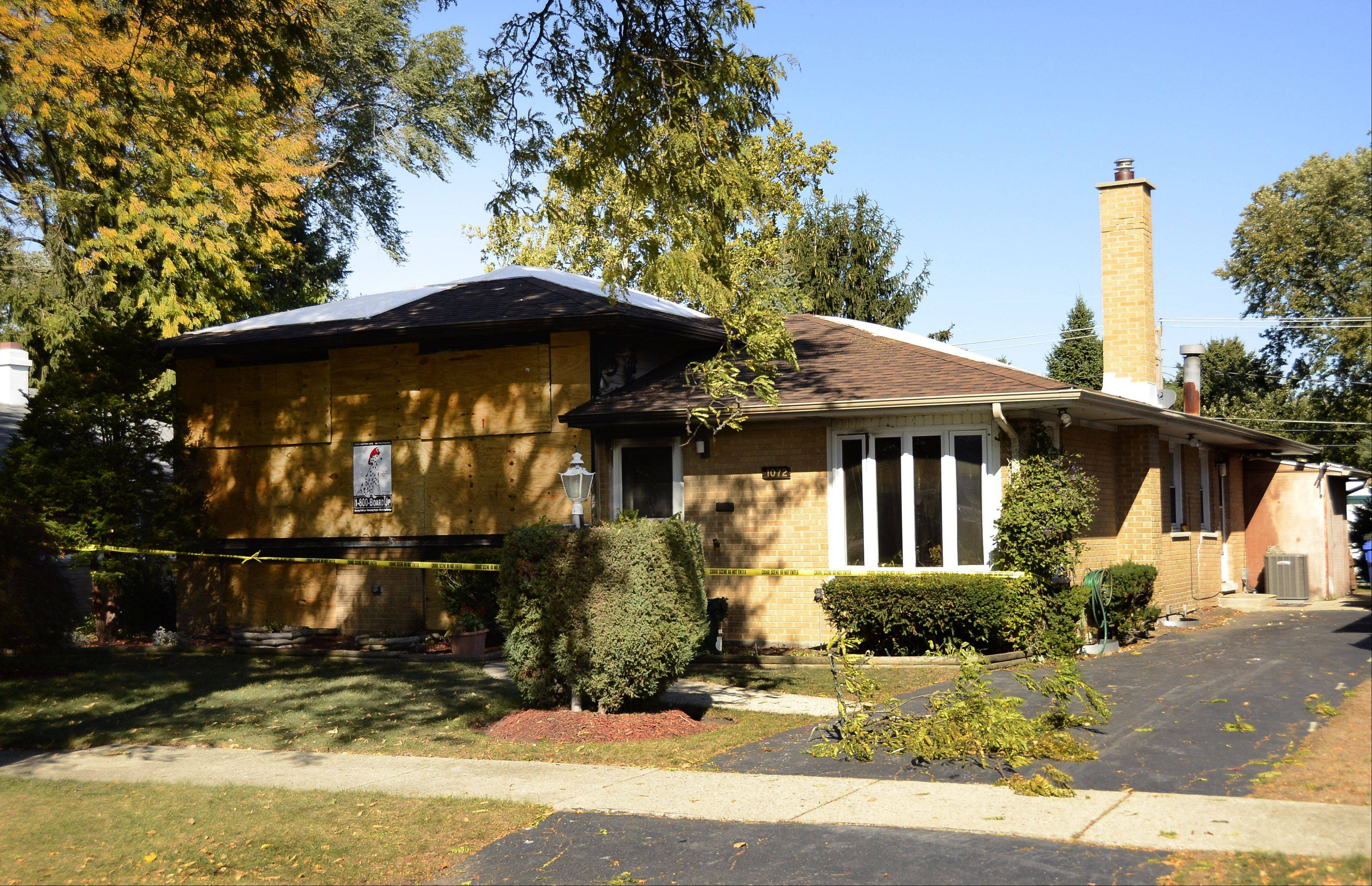 A woman died early Monday after fire swept through her Des Plaines home. Sandra Lupy, 48, of the 1000 block of Irwin Avenue, was found dead in a first floor bedroom after firefighters put out the 12:05 a.m. blaze, officials said. The cause of the fire is under investigation.