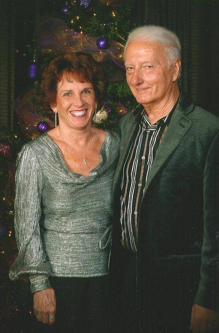 Dennis Junod and his wife.