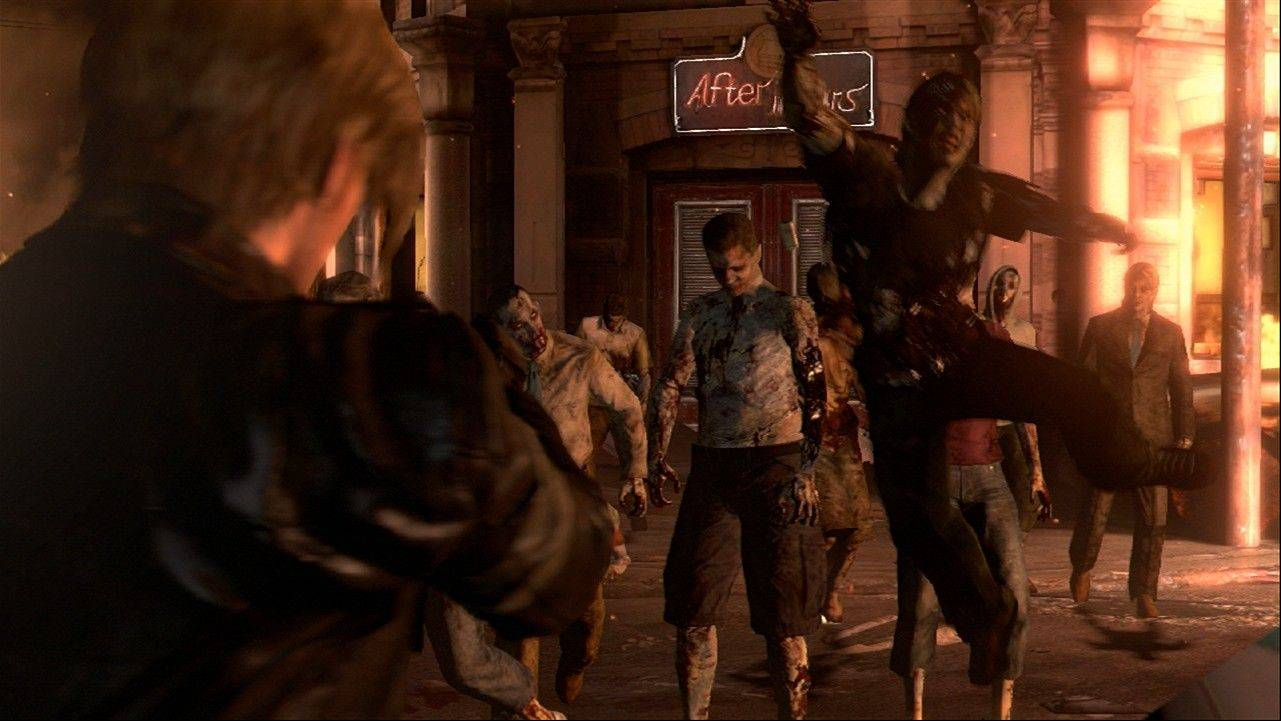 "The pistol-packing monsters in ""Resident Evil 6"" just aren't scary, unfortunately."