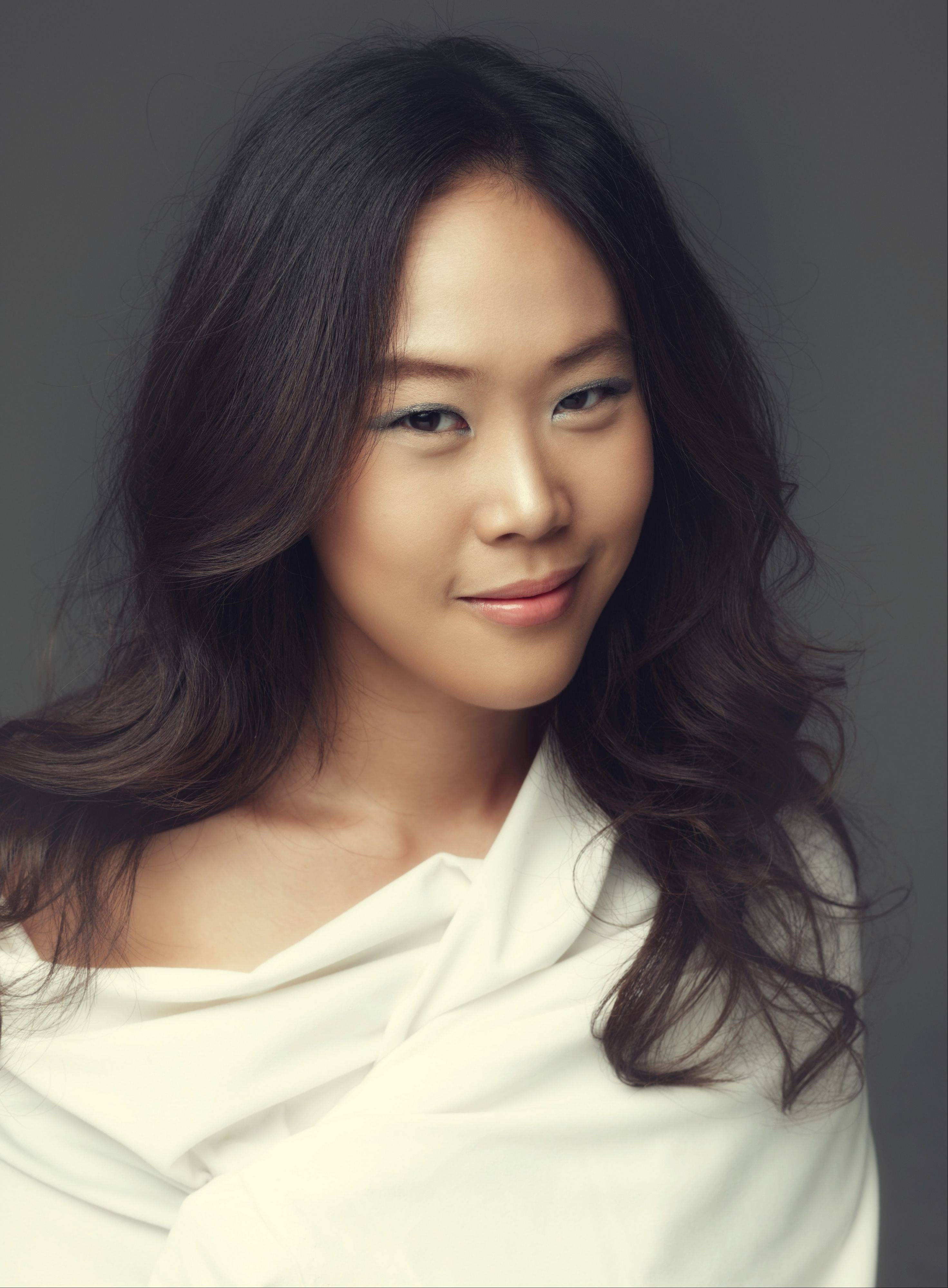 Korean pianist Yeol eum Son performs with the New Philharmonic at Lund Auditorium in River Forest.