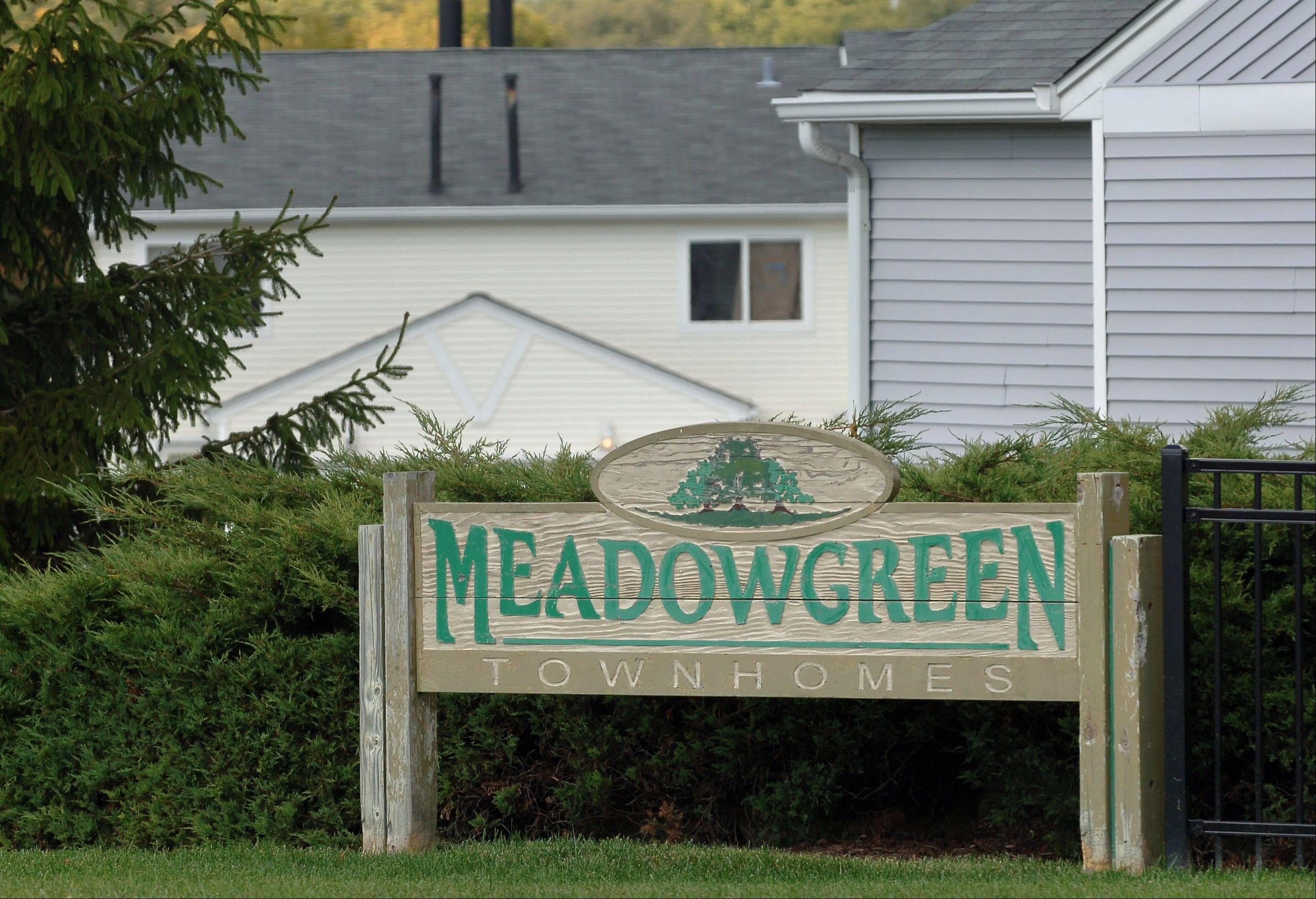 Paul Valade/pvalade@dailyherald.comThe TIF District No. 3 represented a unique public/private effort to improve property conditions at the Meadow Green town home subdivision, a 42-building, 200-unit complex, on Cedar Lake Road north of Rollins Road