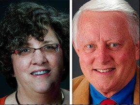 Deborah Barry is challenging and Craig Taylor for the Lake County Board's 19th District seat.