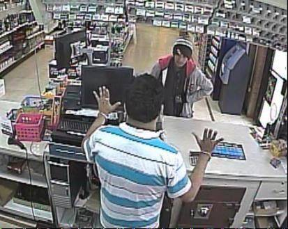 Police are asking for help identifying the man they say robbed a Schaumburg store Friday.