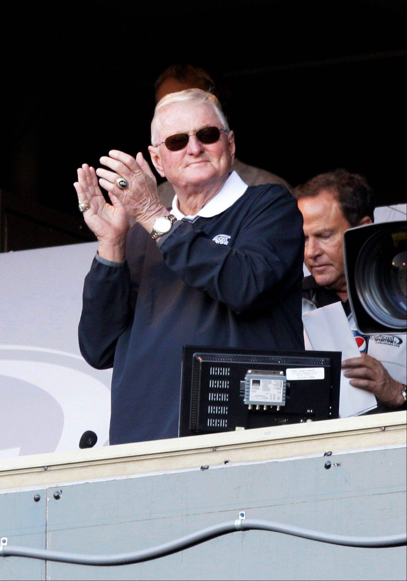 Finding a teammate in the booth for White Sox broadcaster Ken Harrelson has been difficult over the years, but Steve Stone will be back again next season.