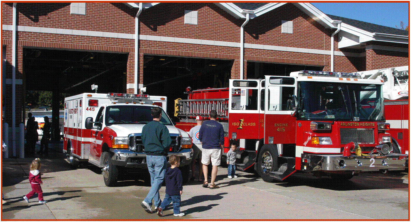 Get a close up view of rescue equipment and Fire Department vehicles at the Open House, October 13.